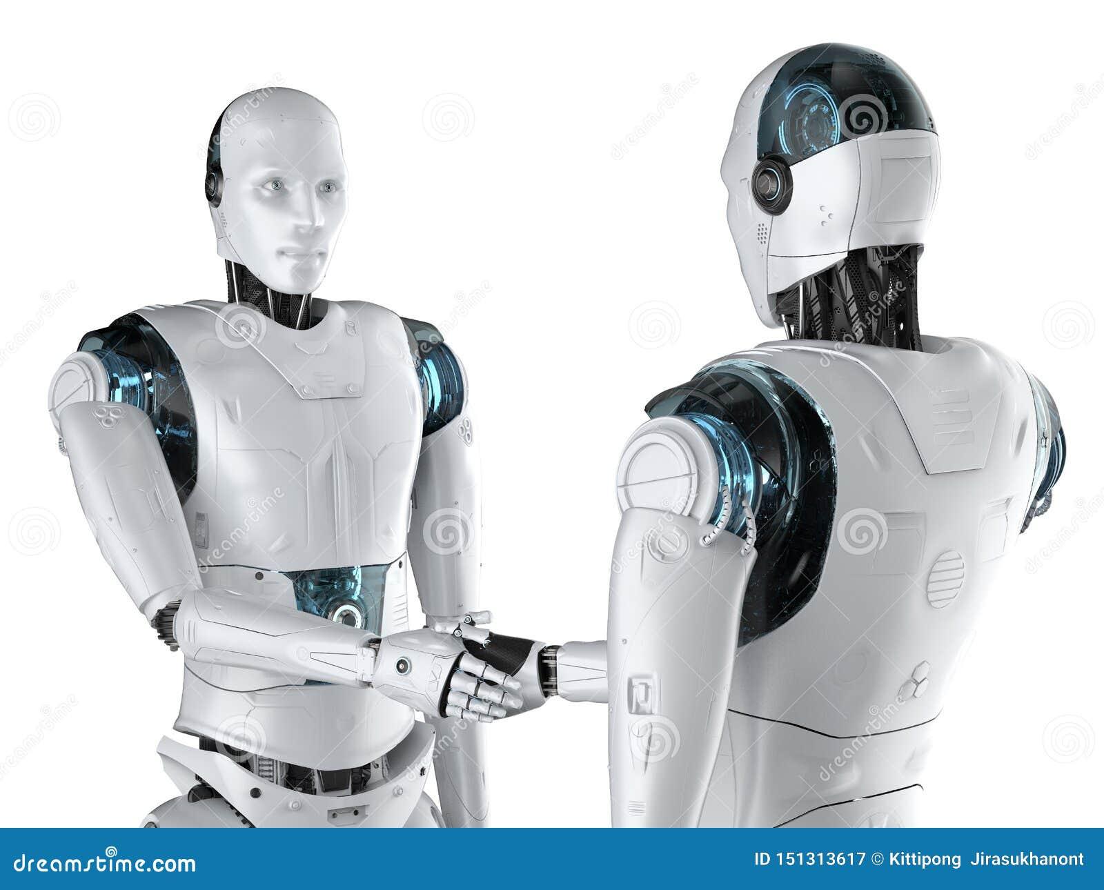 机器人手震动
