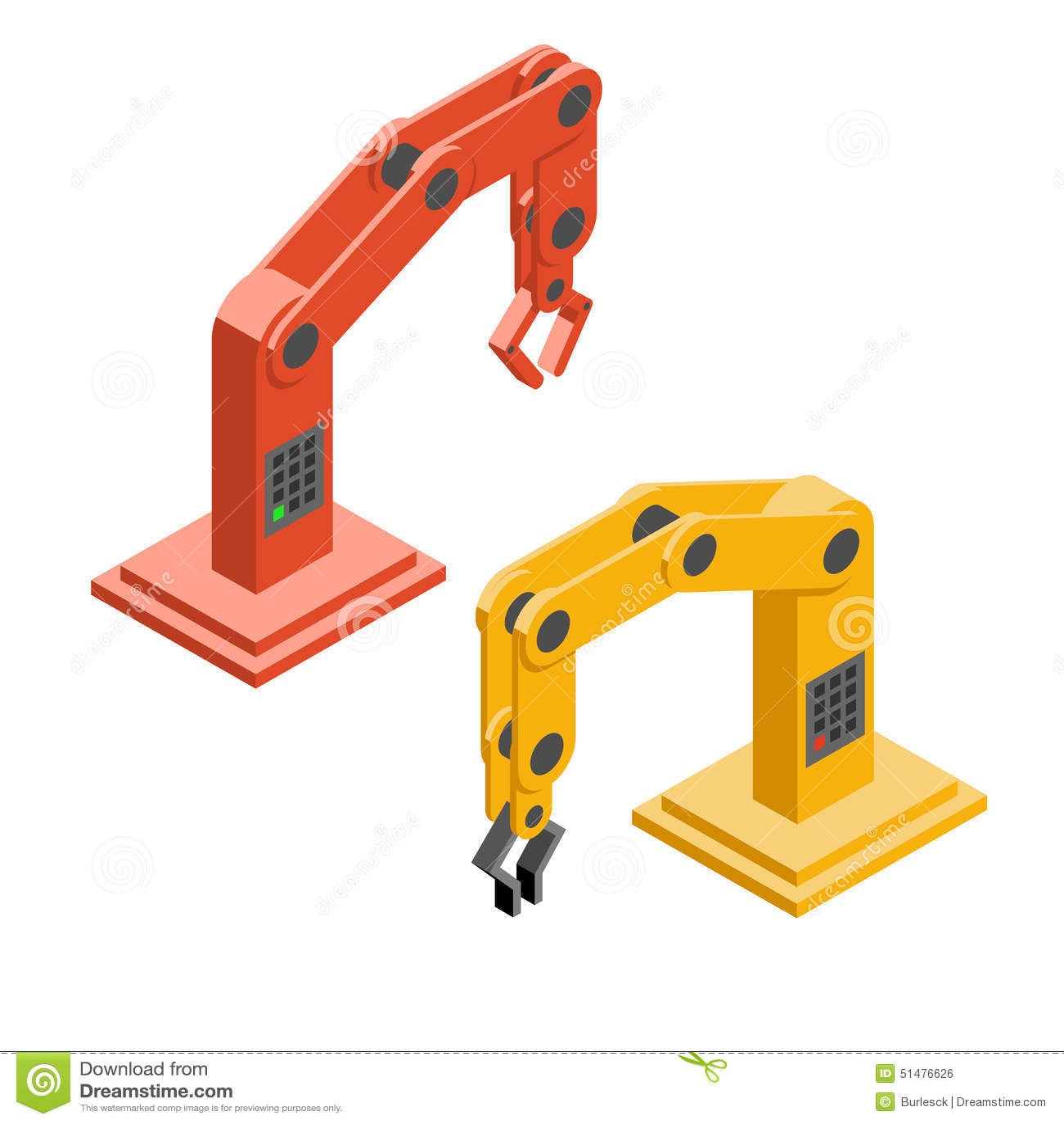 机器人手 工业机器人胳膊