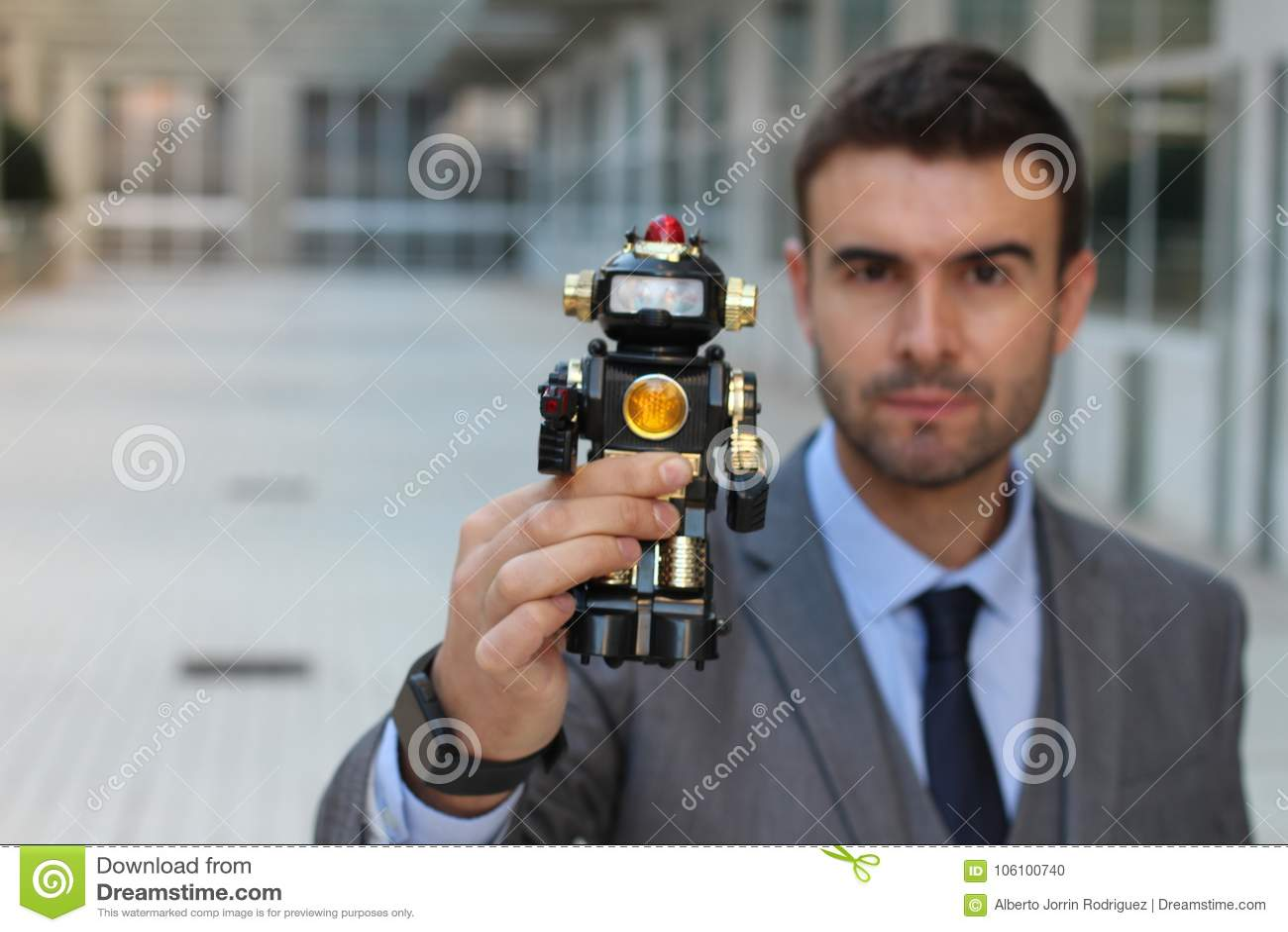 机器人被创造控制和毁坏人类
