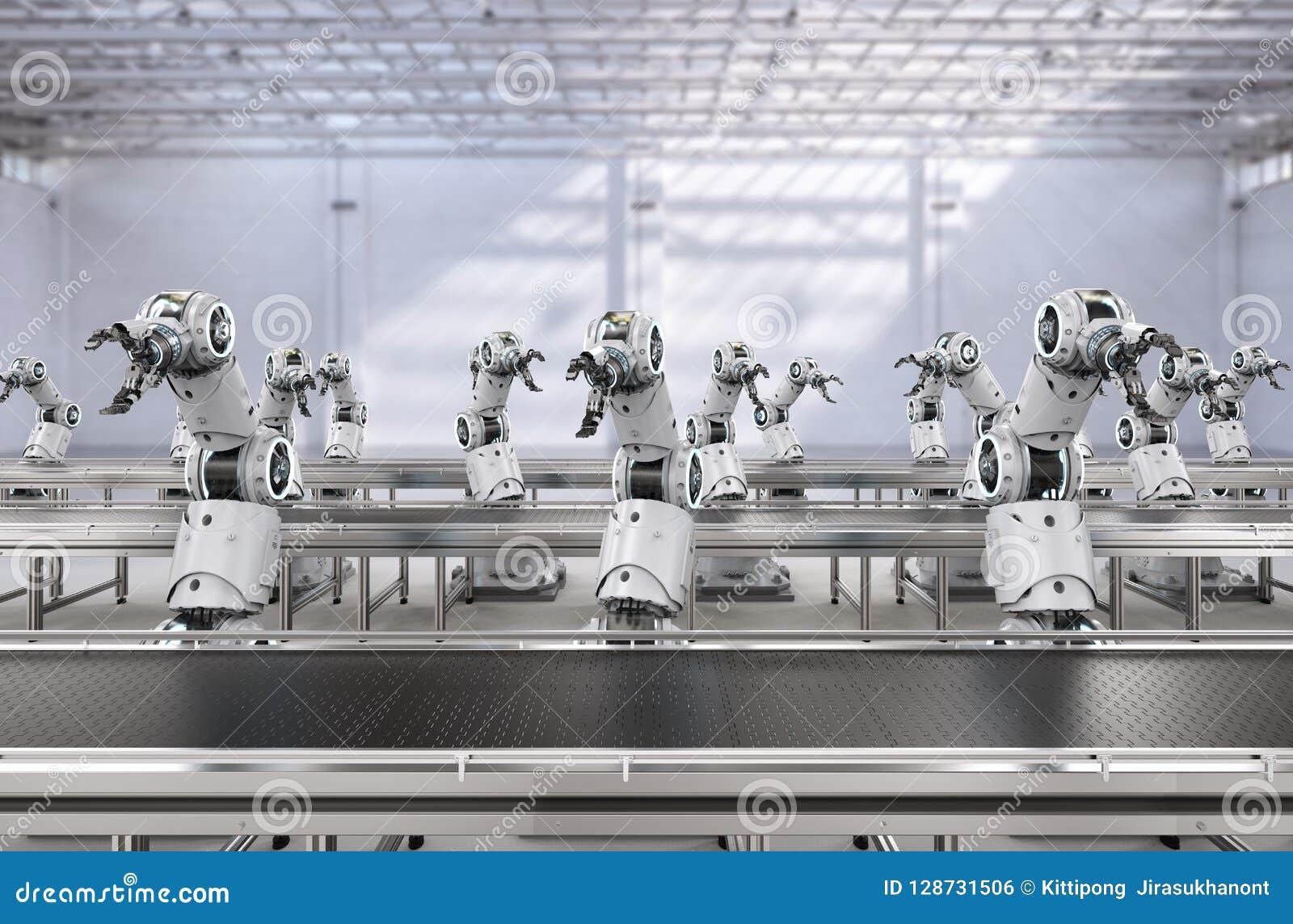 机器人装配线