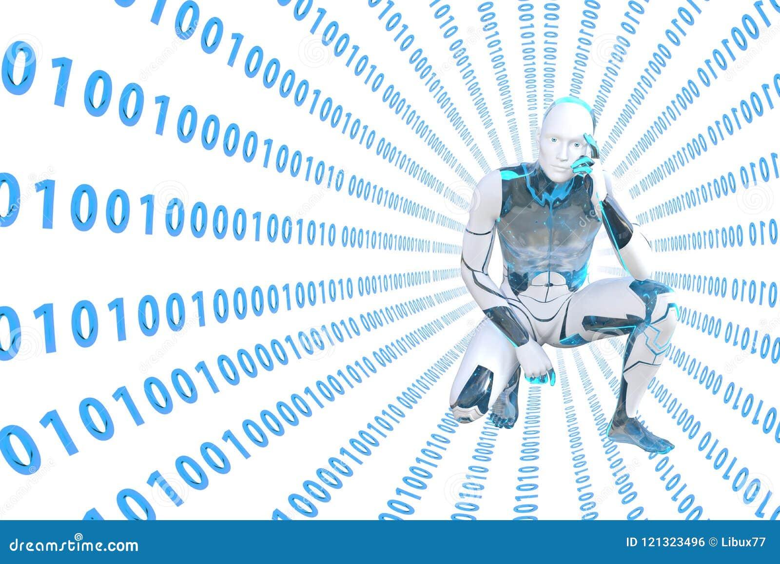 机器人认为被淹没入隧道数字信息
