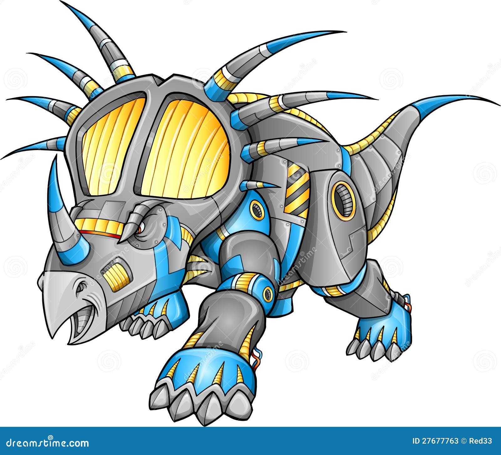 機器人設備三角恐龍恐龍圖片