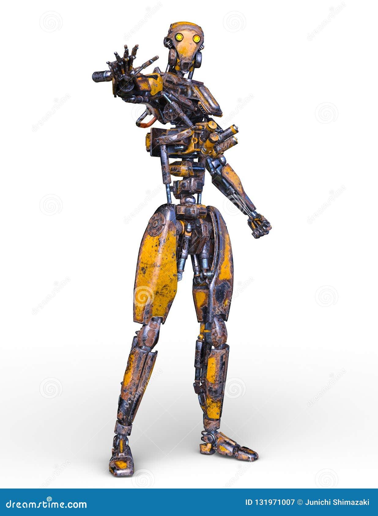 机器人3D CG翻译