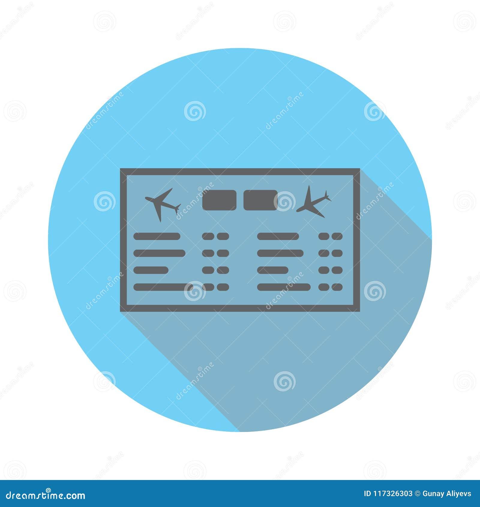 机场板 机械记分牌象 机场的元素蓝色的平展上色了象 优质质量图形设计象 sim