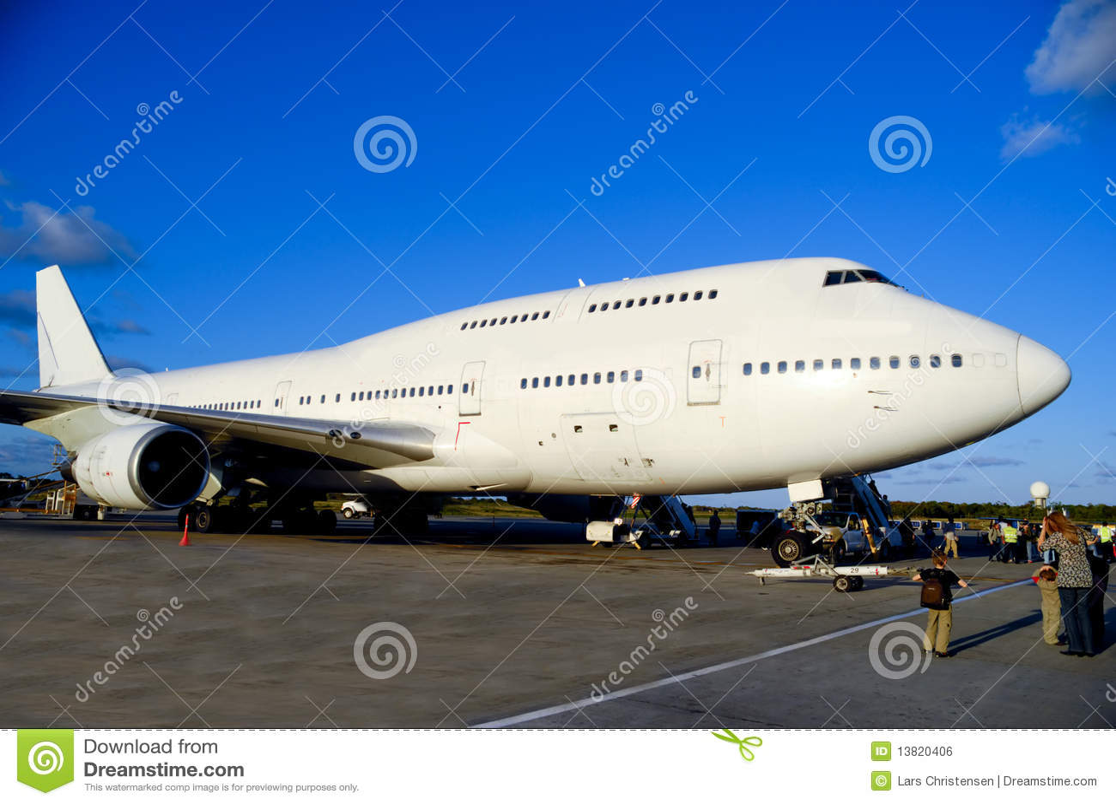 机场波音747飞机飞机