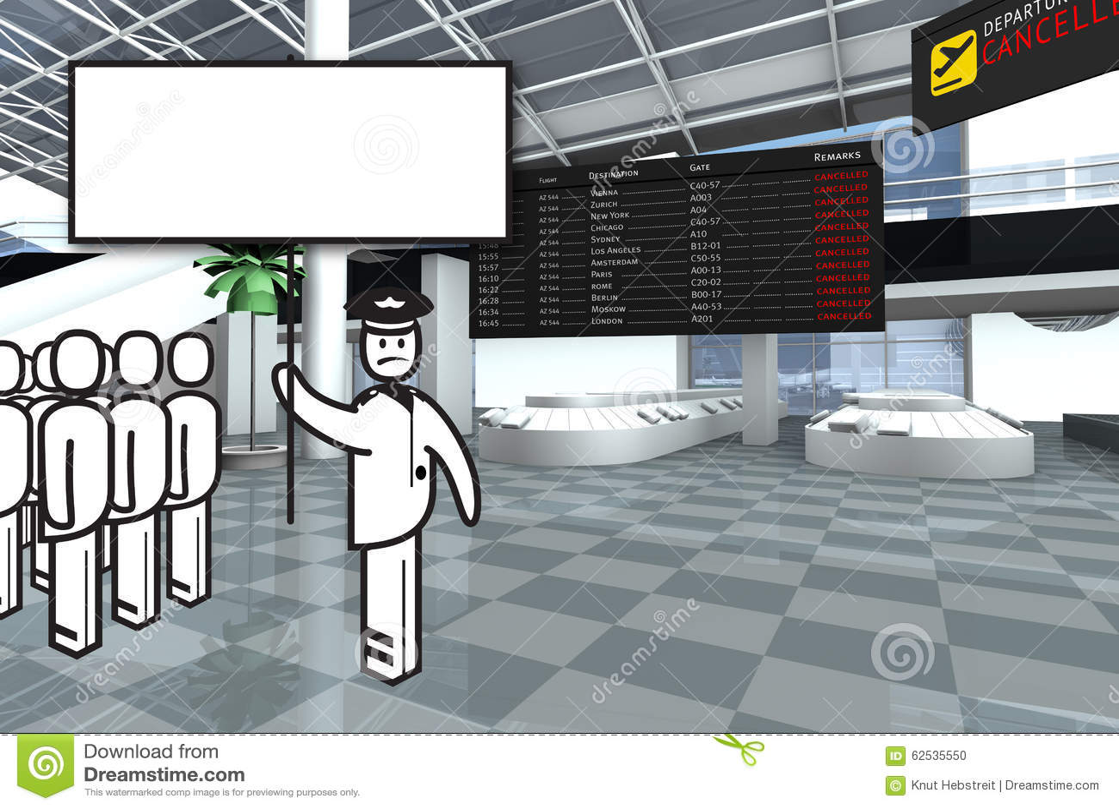 机场赌金保管人罢工