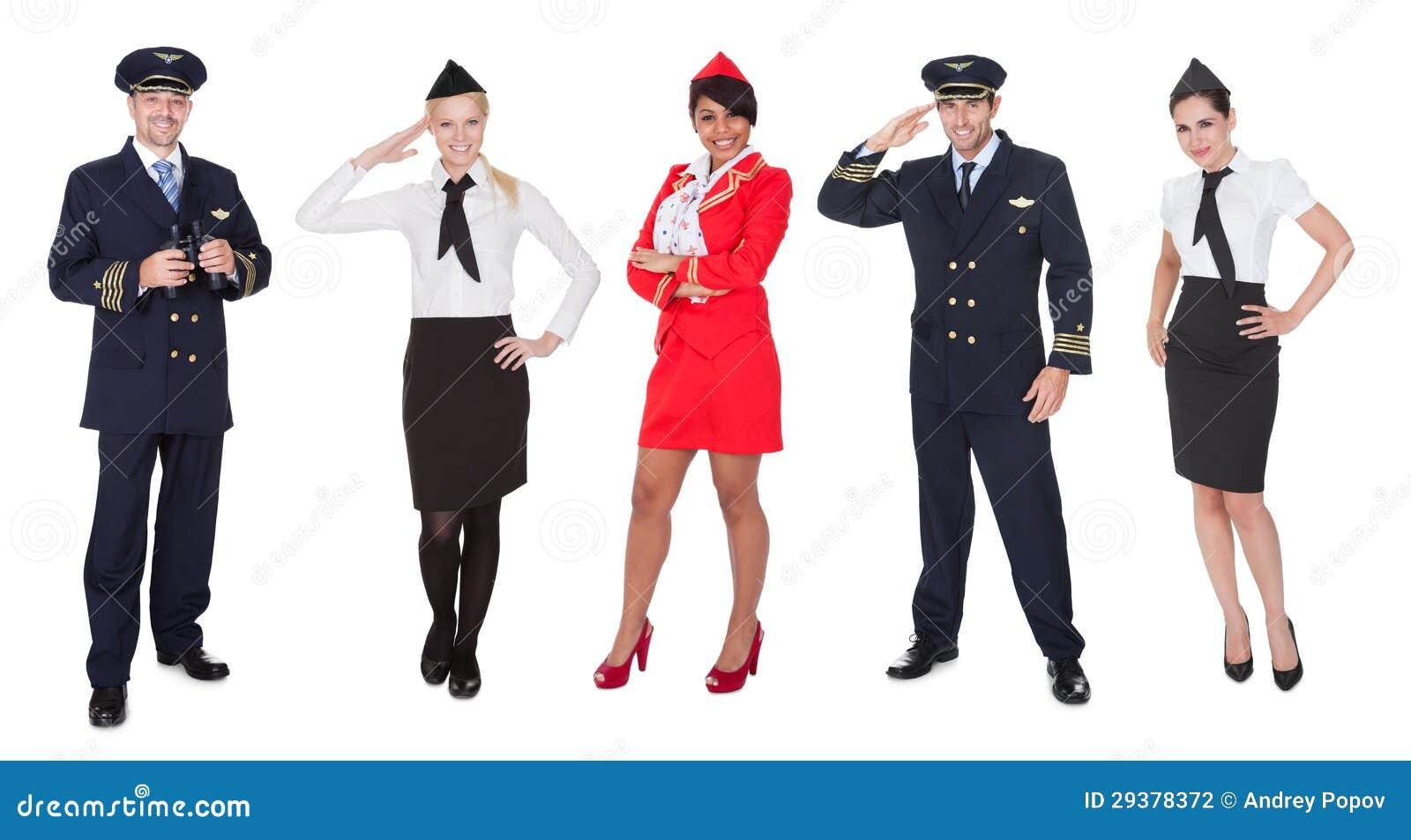 机组乘务员成员,飞行员,空中小姐