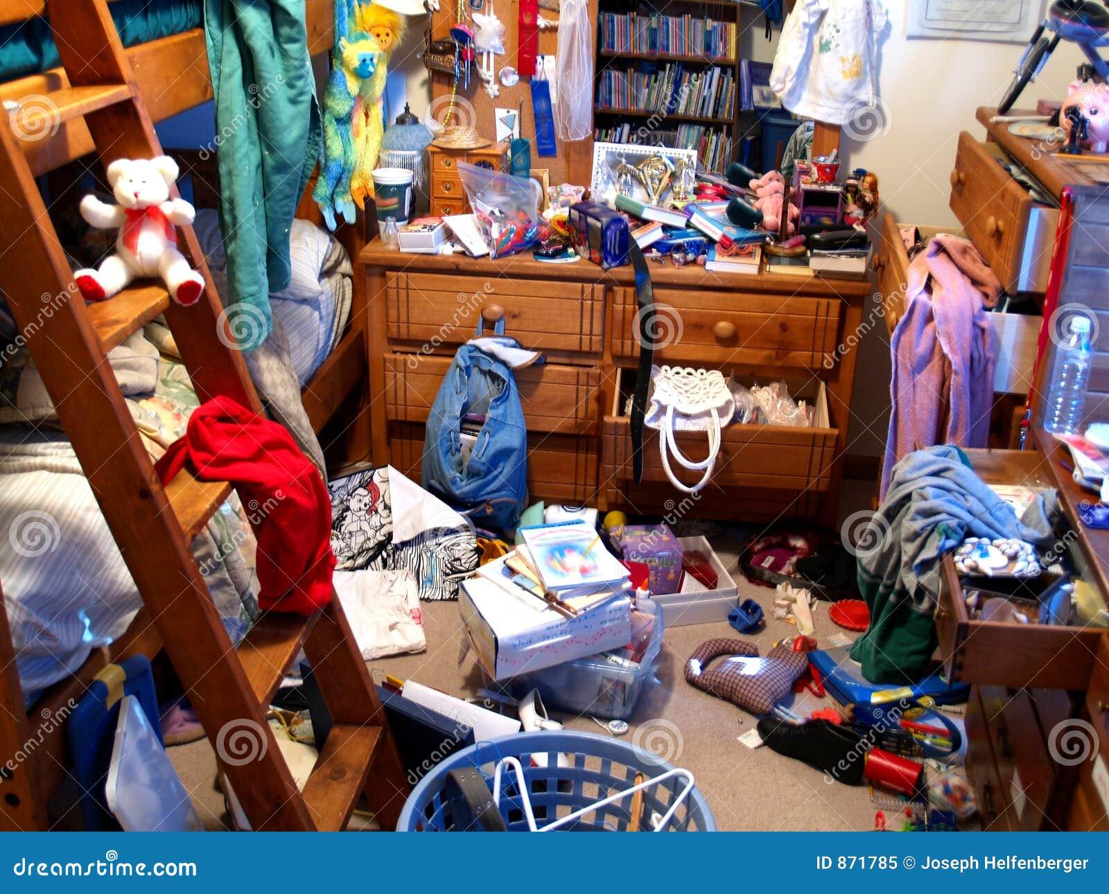 杂乱的卧室