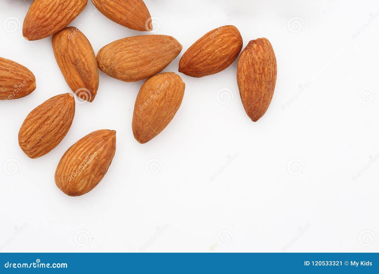 杏仁 杏仁坚果,未加工的食物