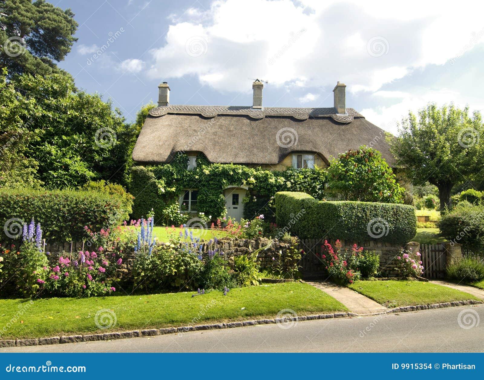 村庄乡下古雅的英国