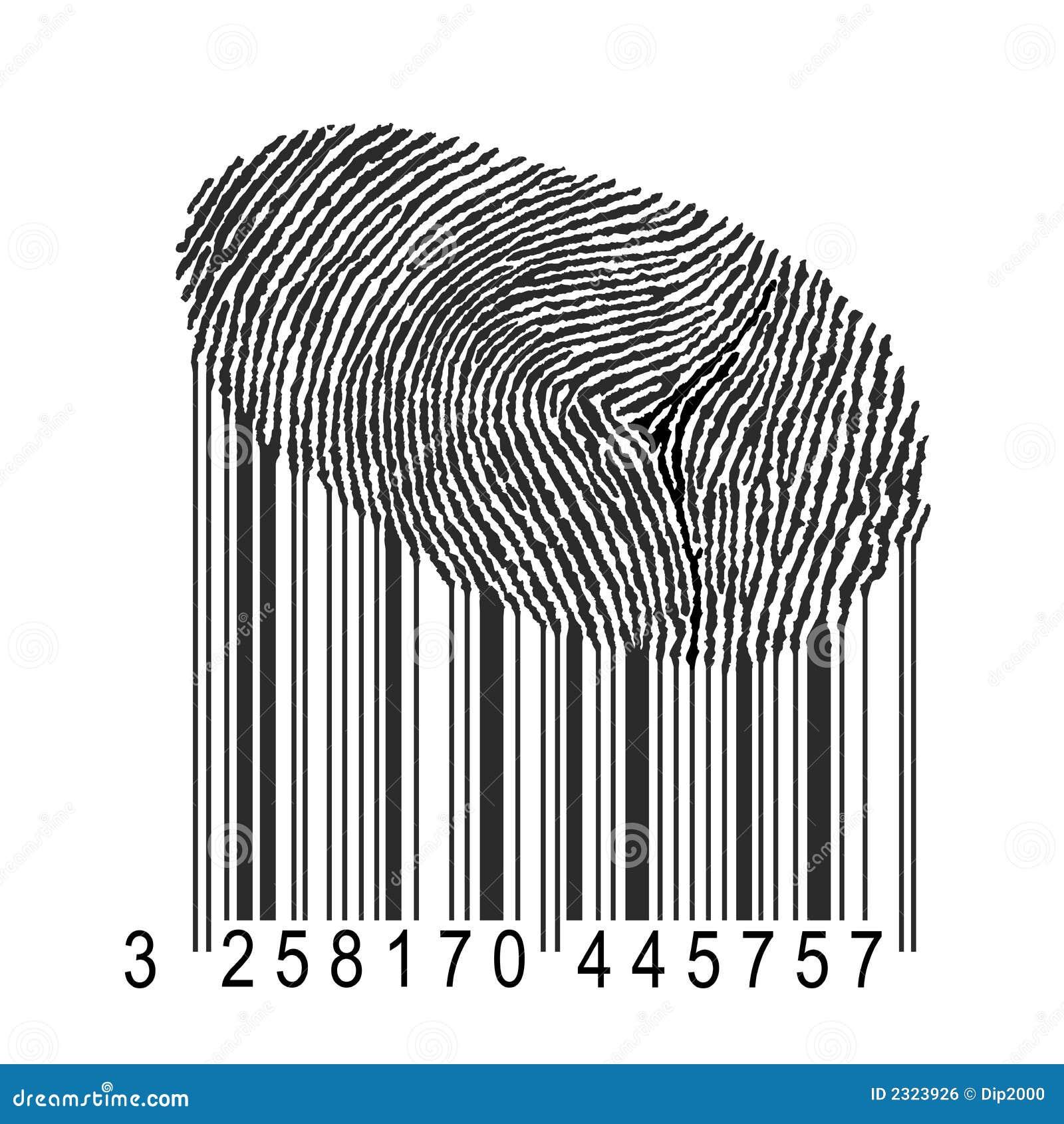 条形码指纹