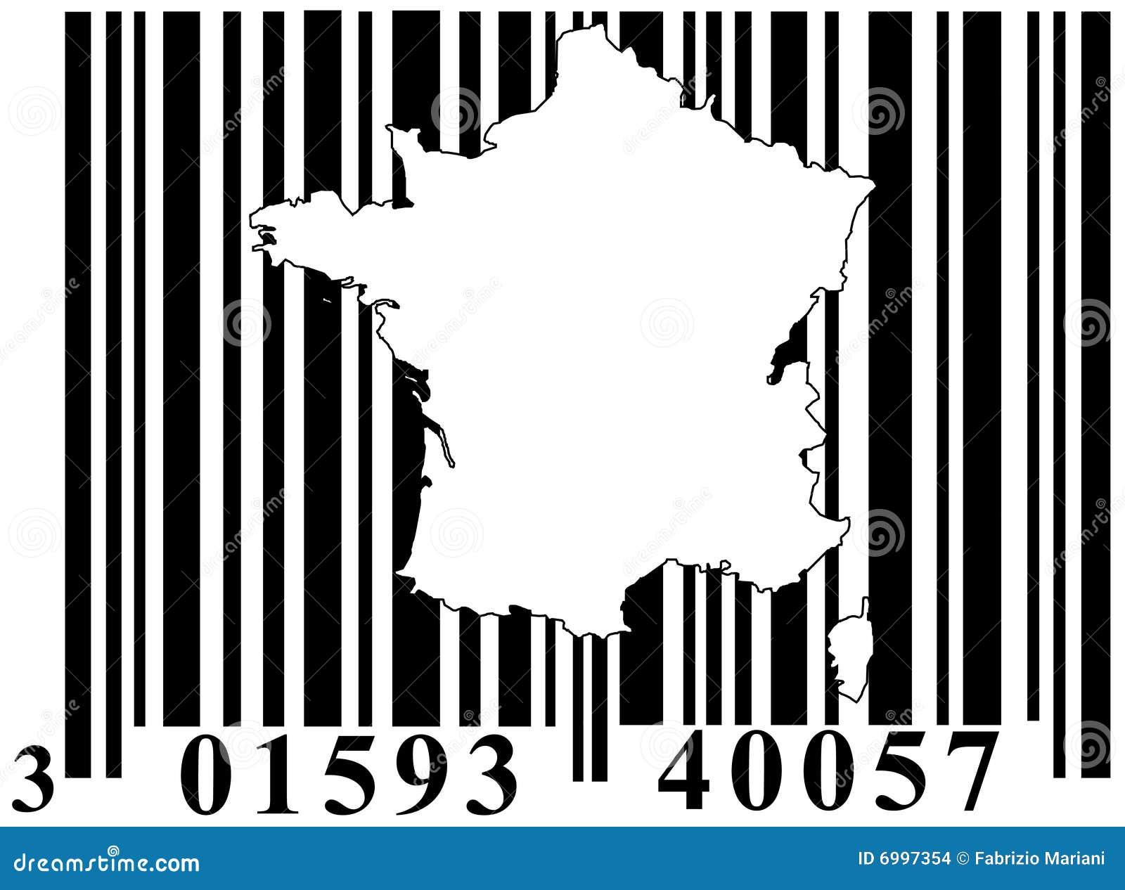 条形码法国分级显示