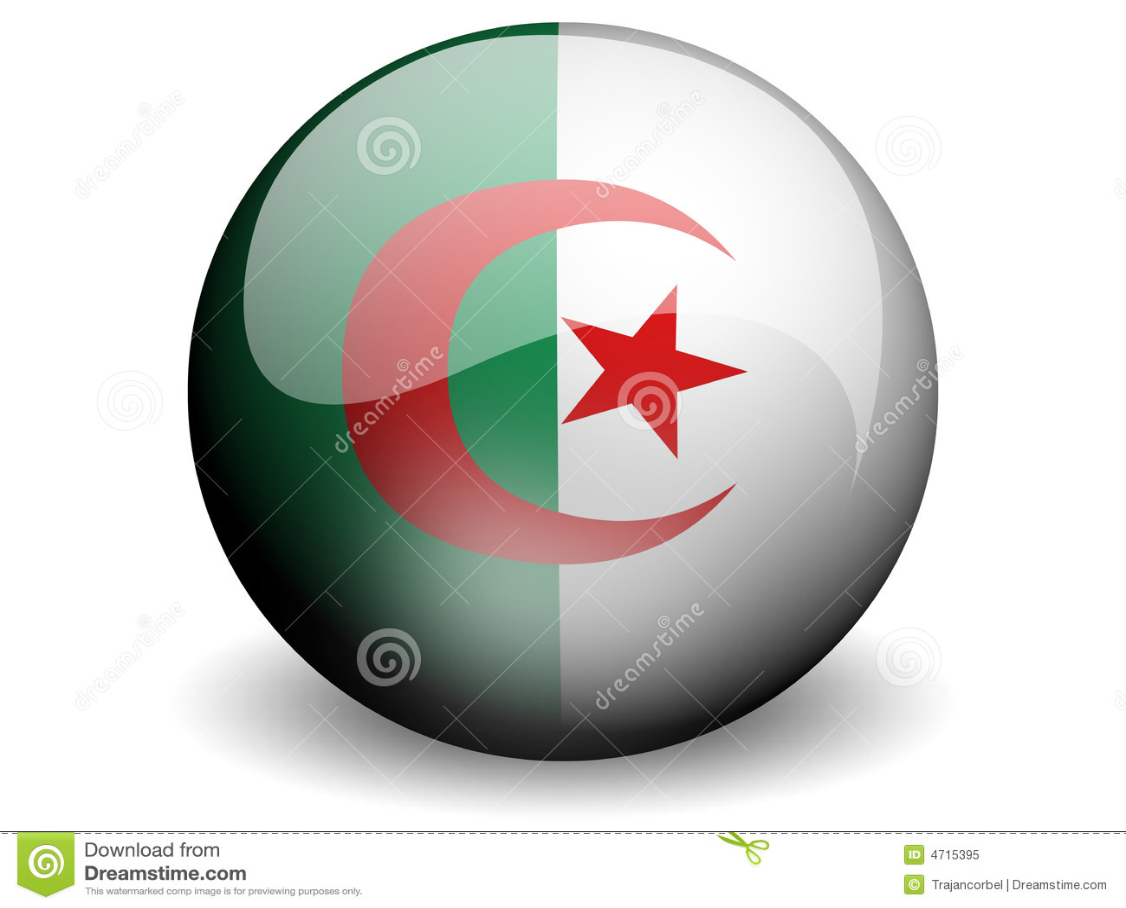 来回阿尔及利亚的标志