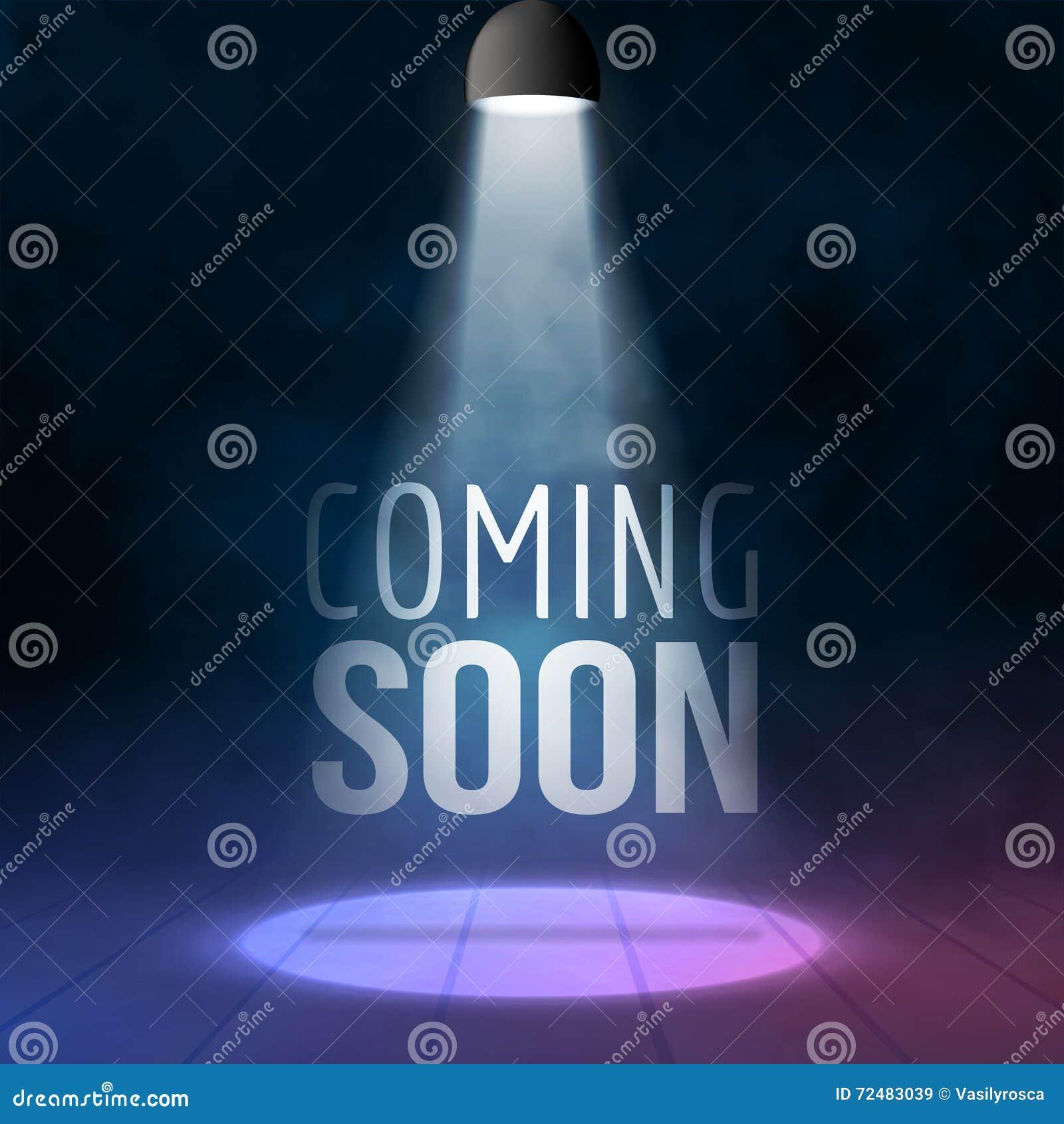 来很快阐明与投光器空白阶段现实传染媒介例证 销售市场商务概念