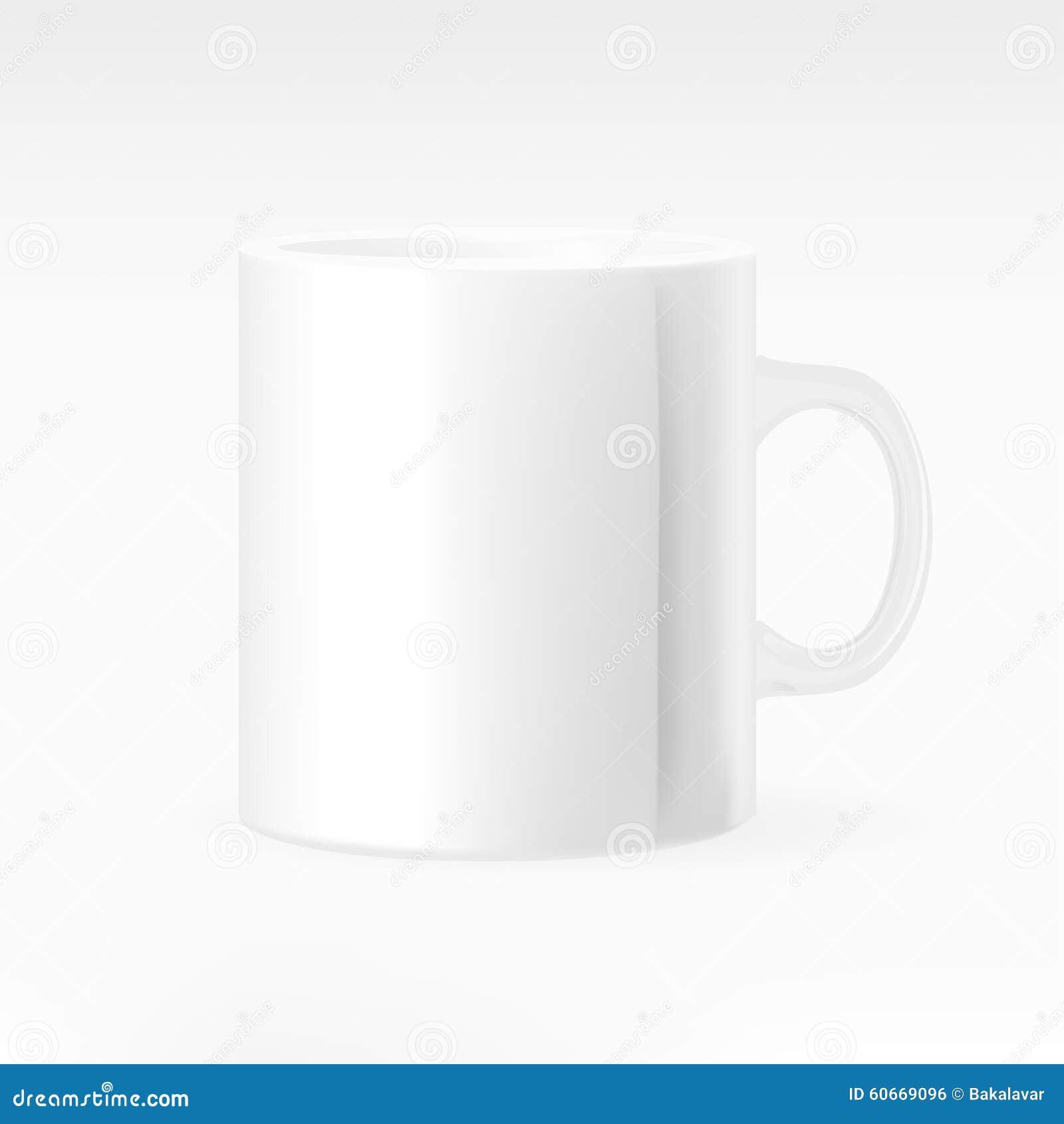 杯子向量白色