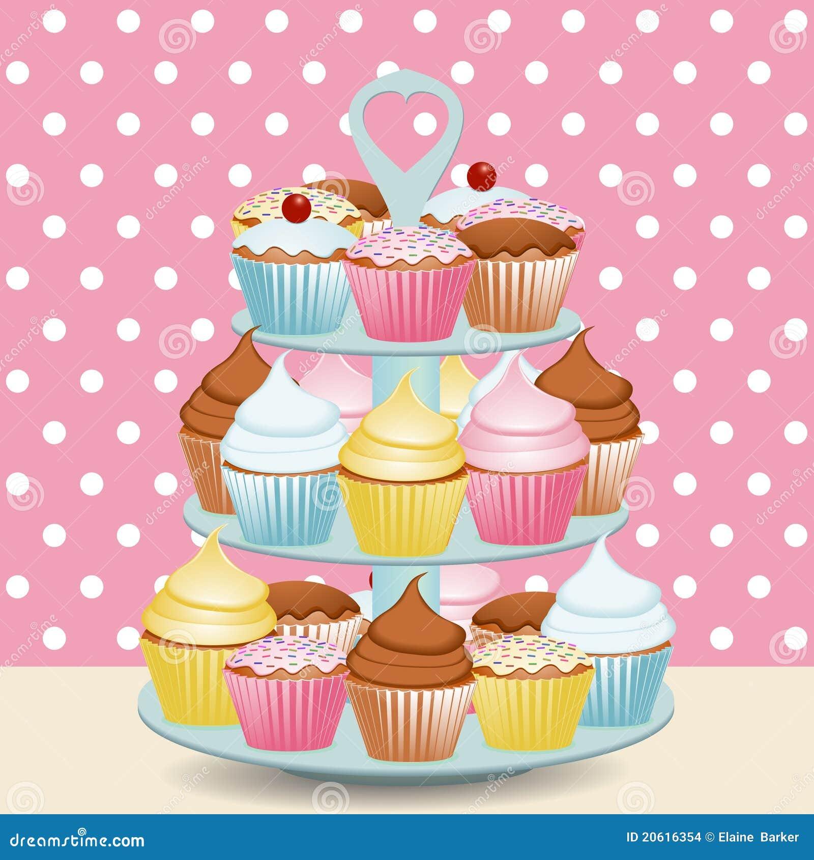 杯形蛋糕立场