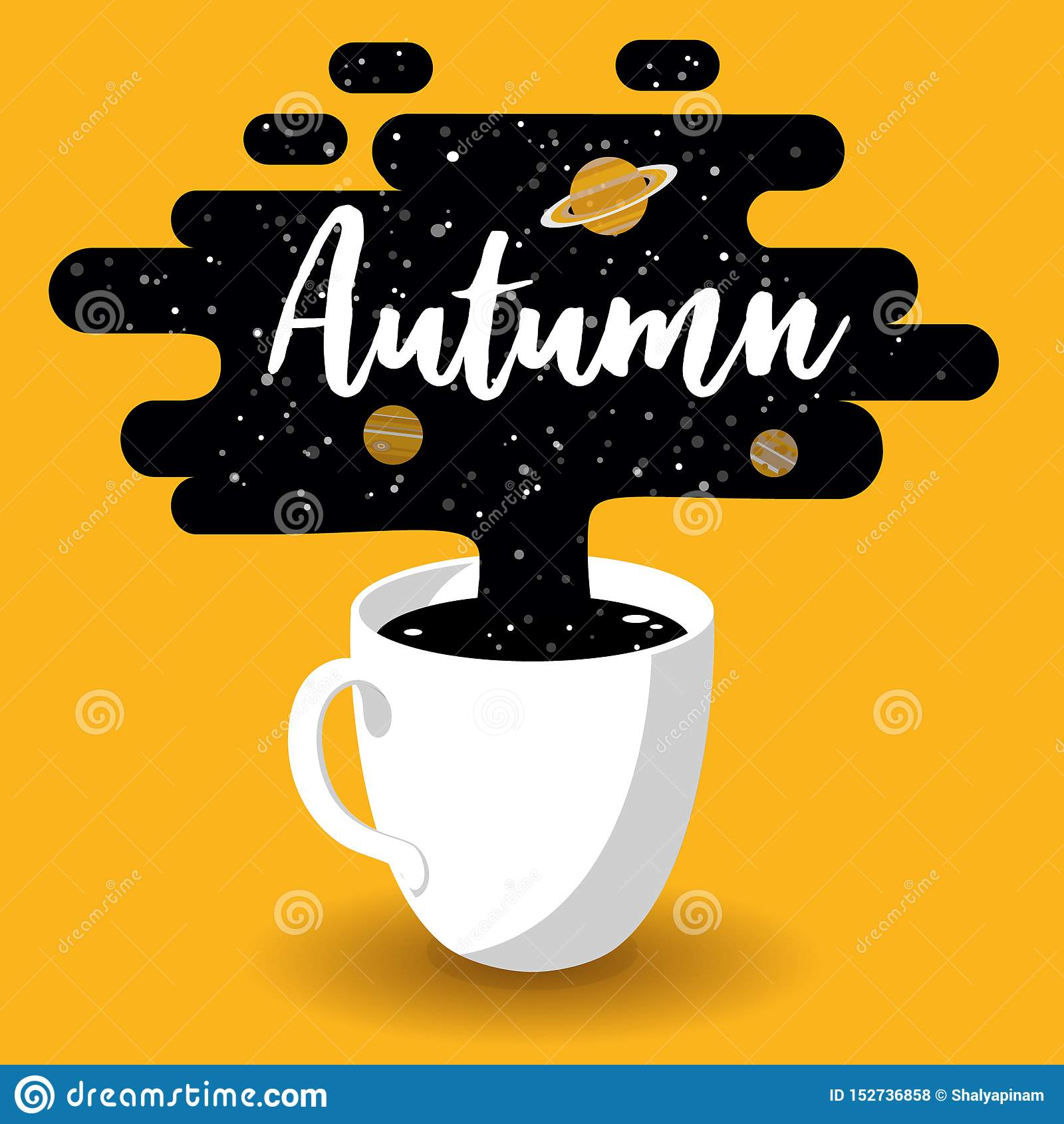 杯新鲜的咖啡