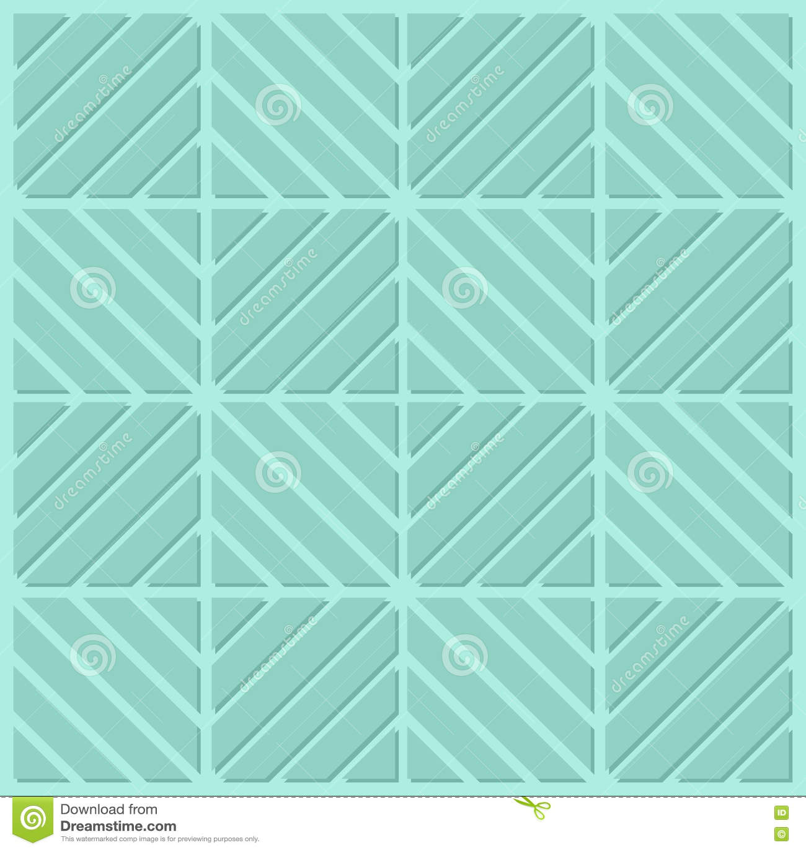 绿松石正方形