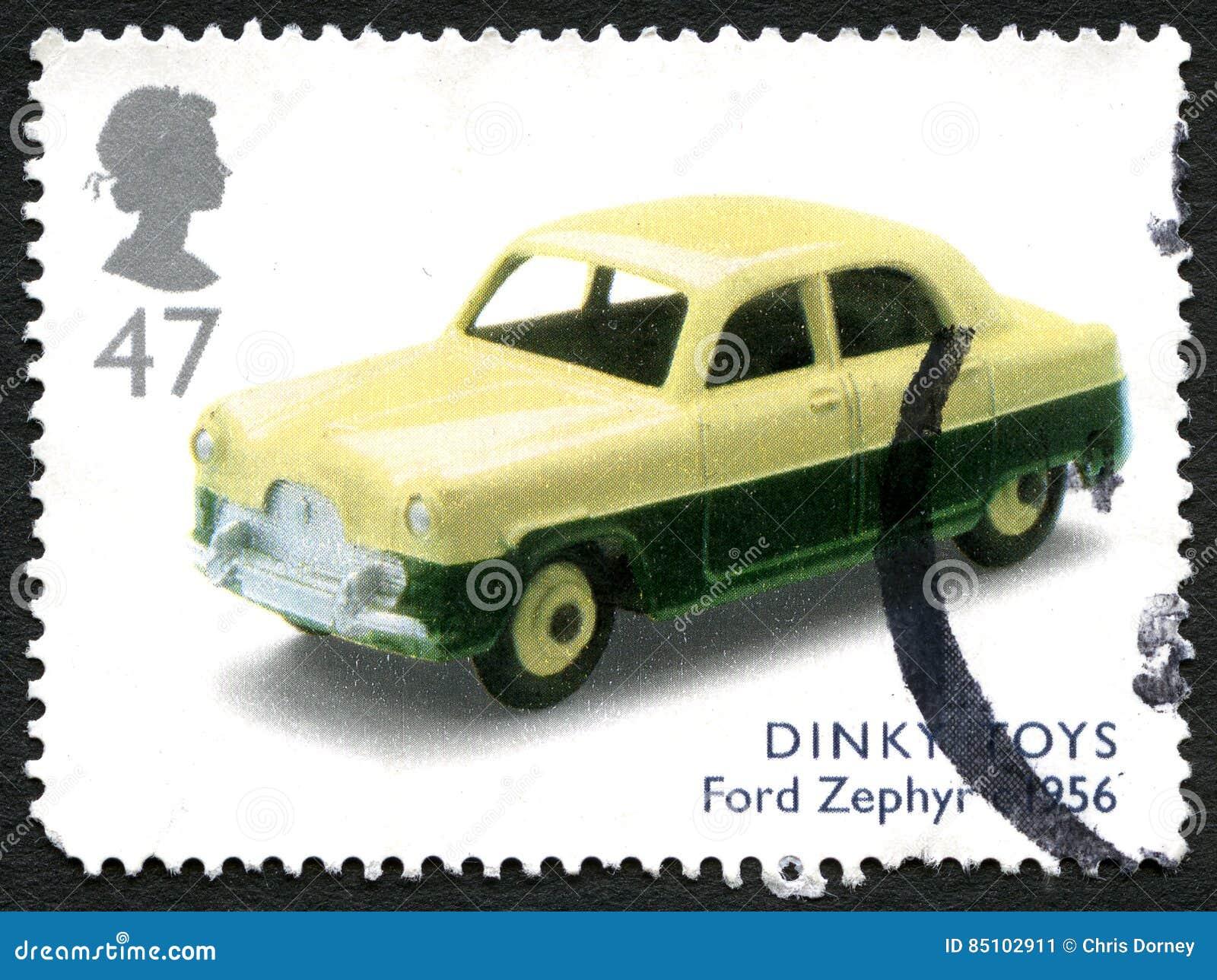 极小的玩具英国邮票