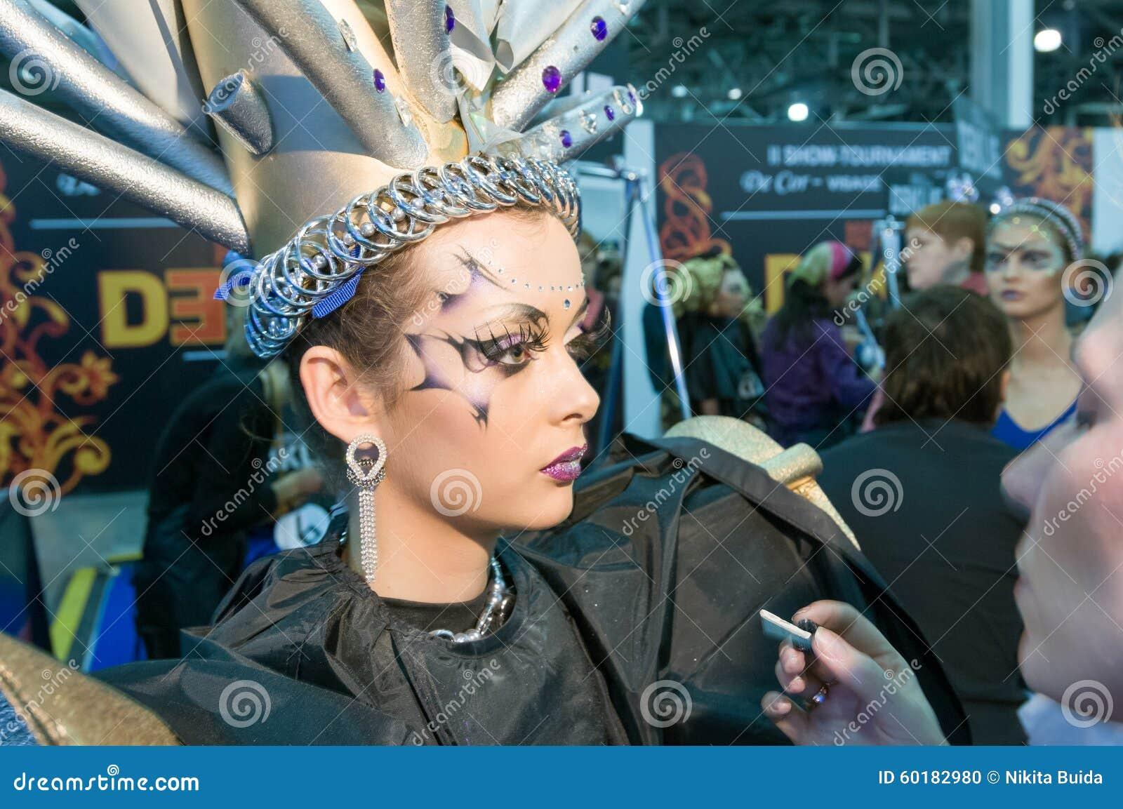 构成和头发艺术家竞争