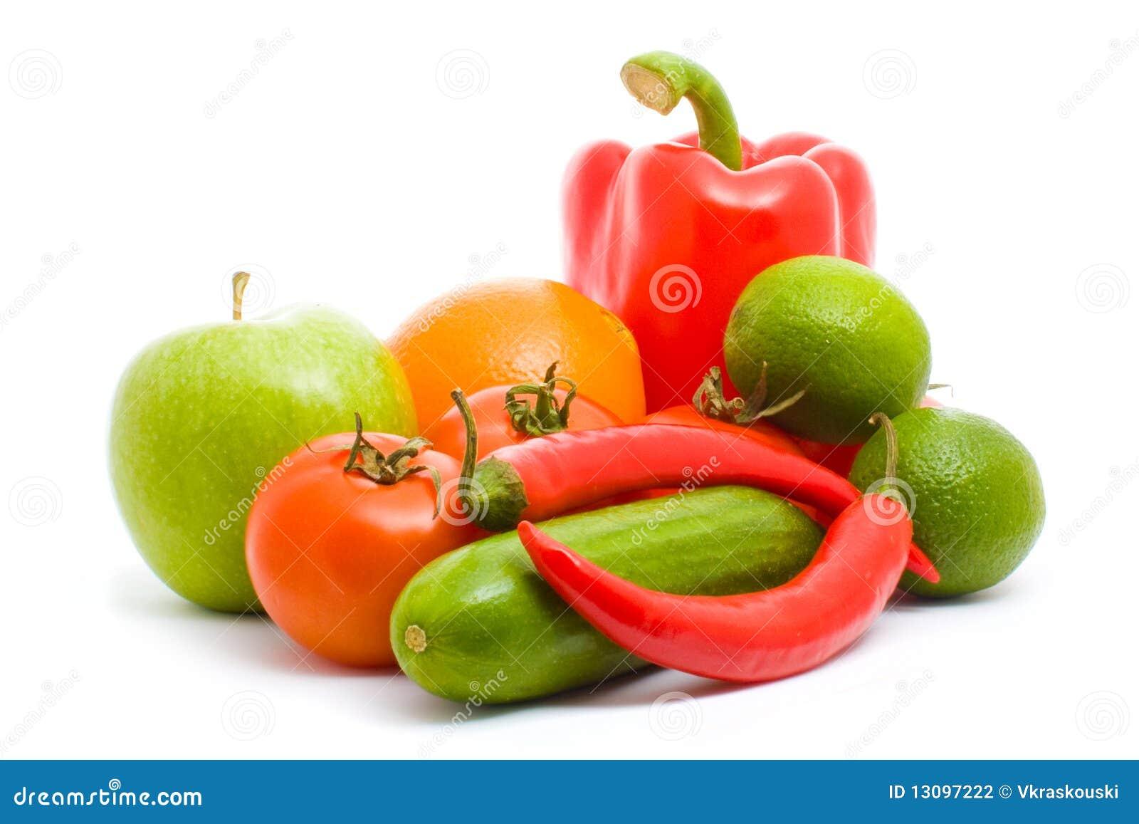 果子查出蔬菜