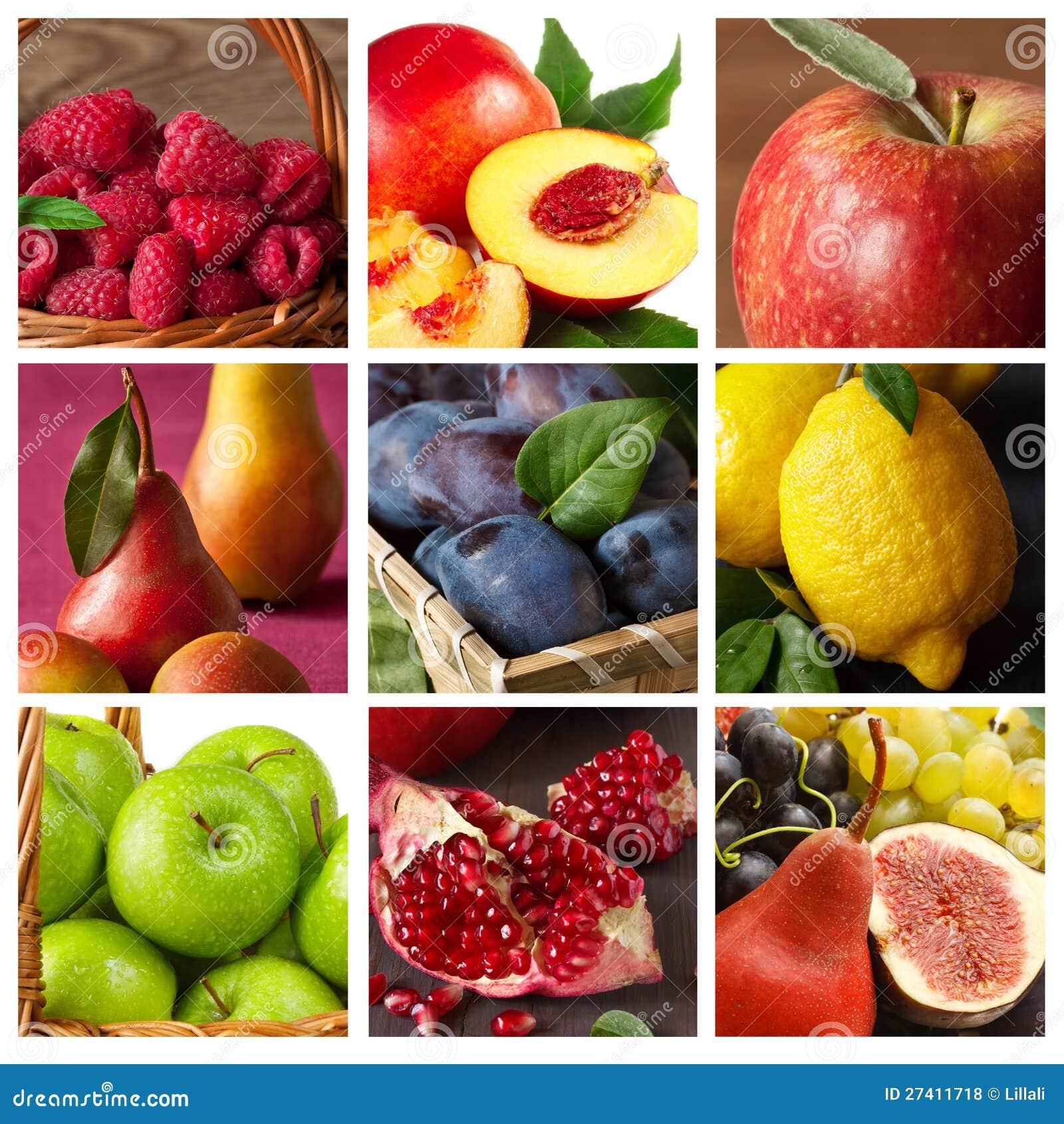 果子的收集。