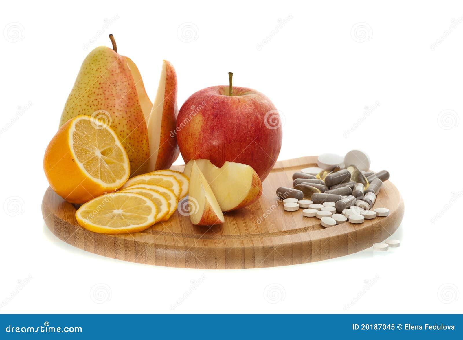 果子药片维生素