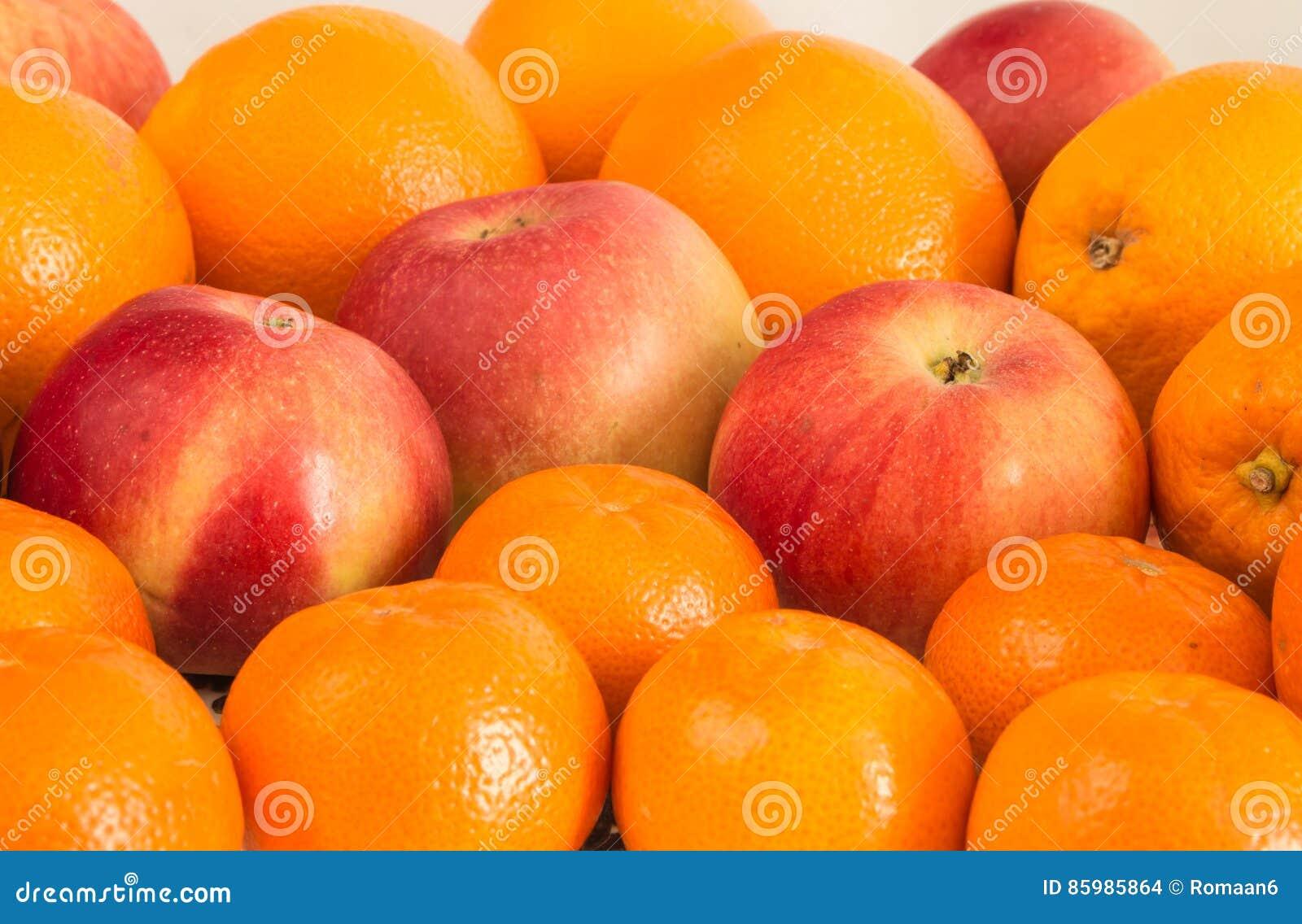 果子静物画橘子苹果盘子
