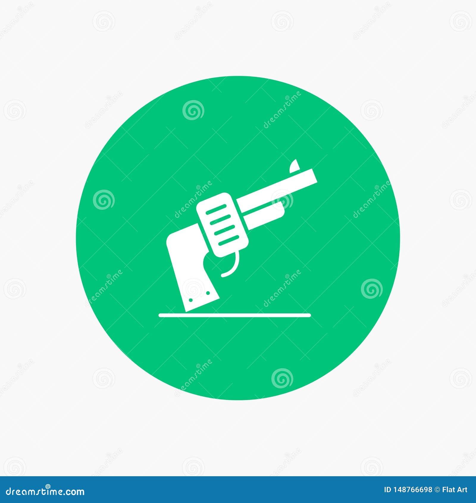 枪,手,武器,美国人