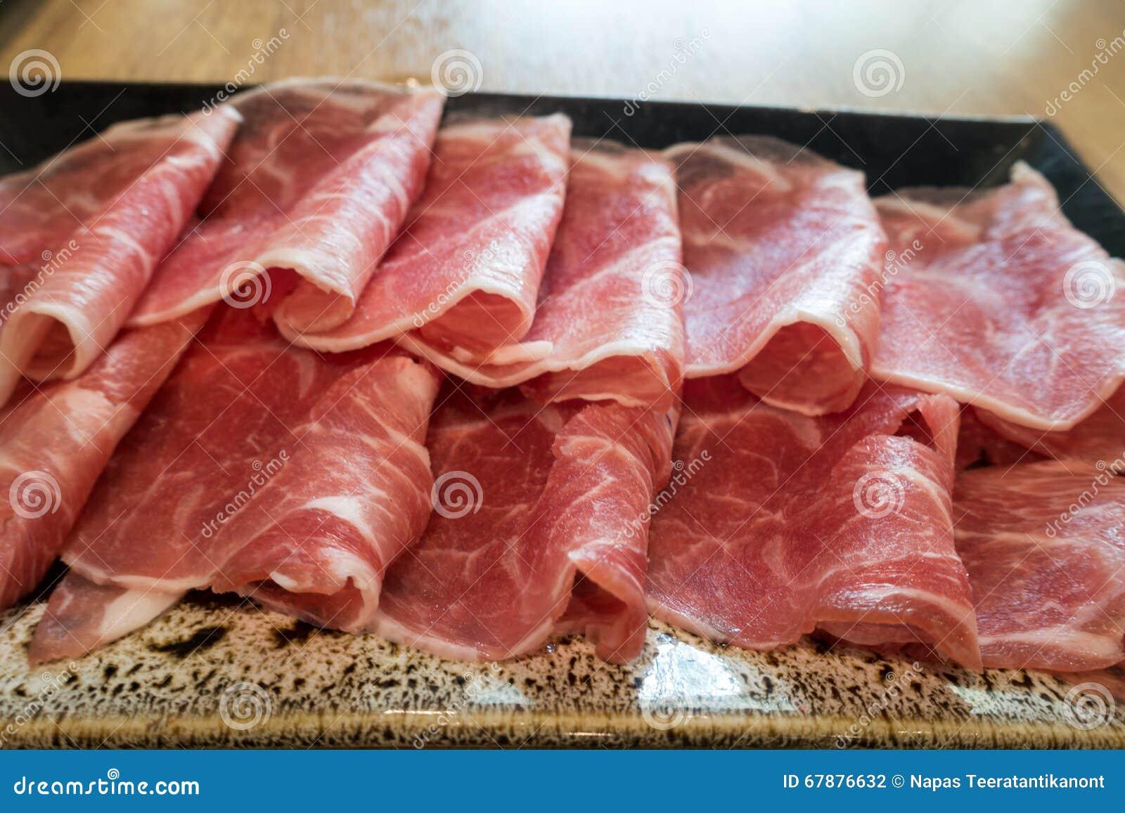 黑柏克夏猪肉