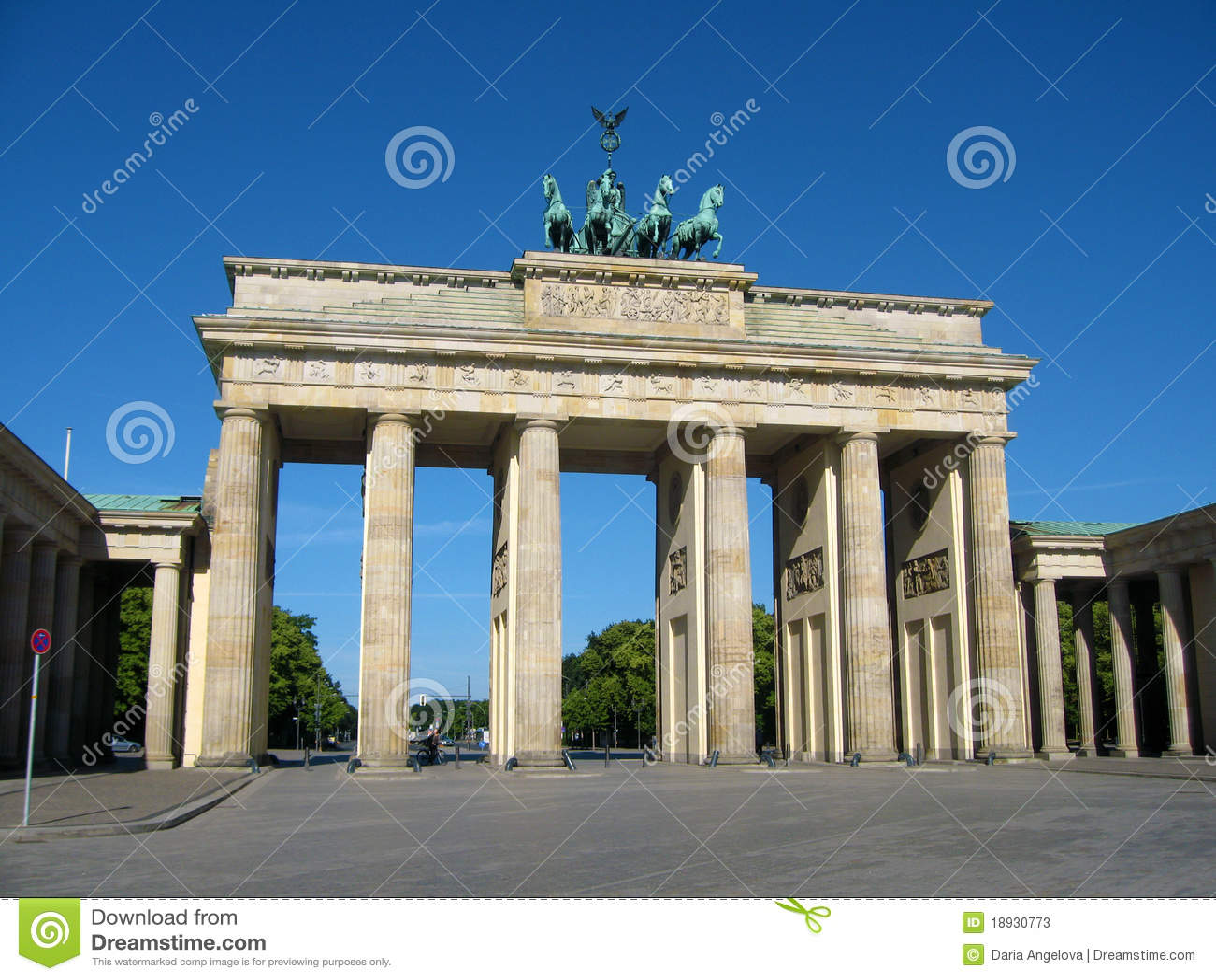 柏林勃兰登堡门