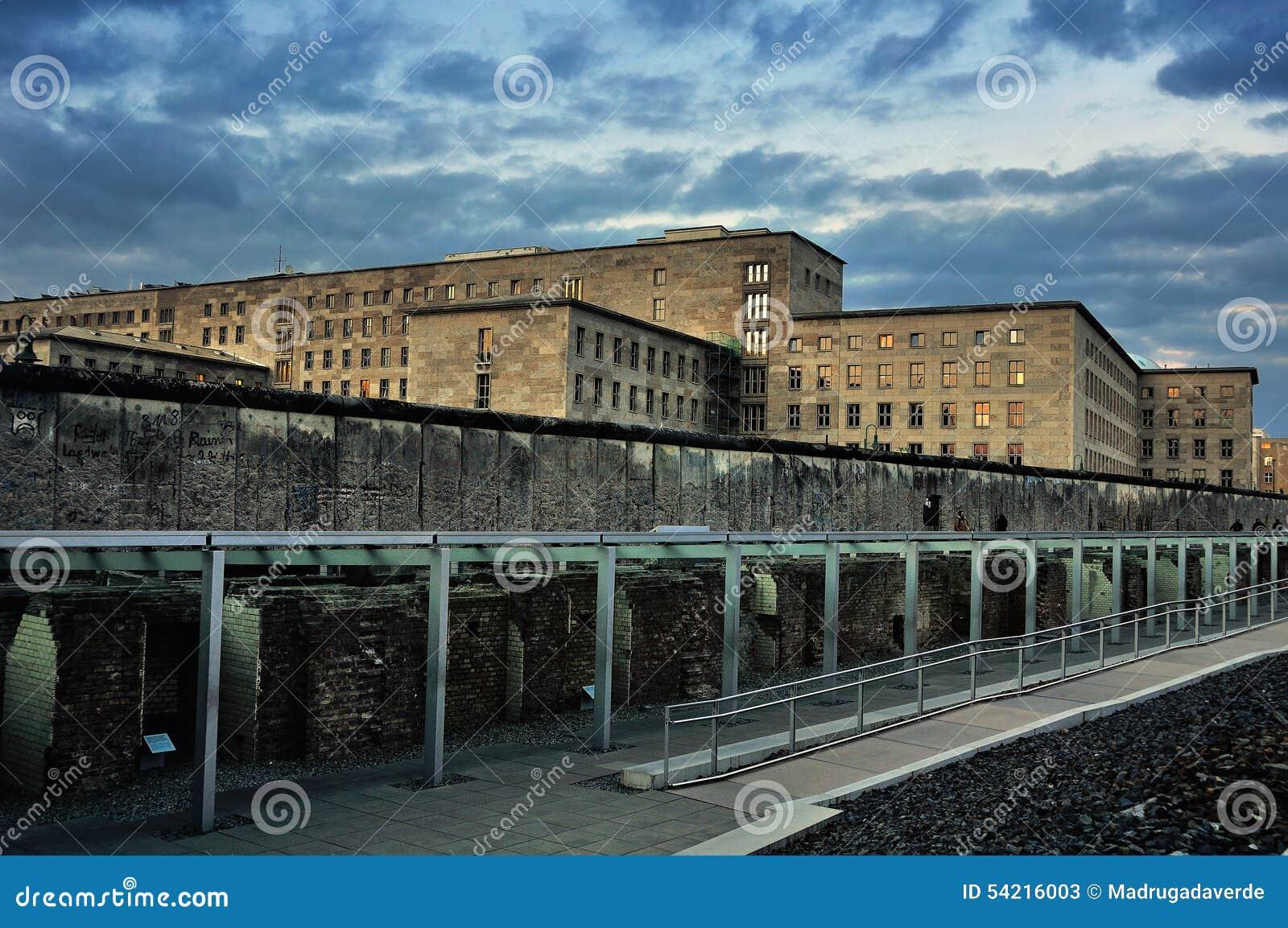 柏林围墙的遗骸在德国