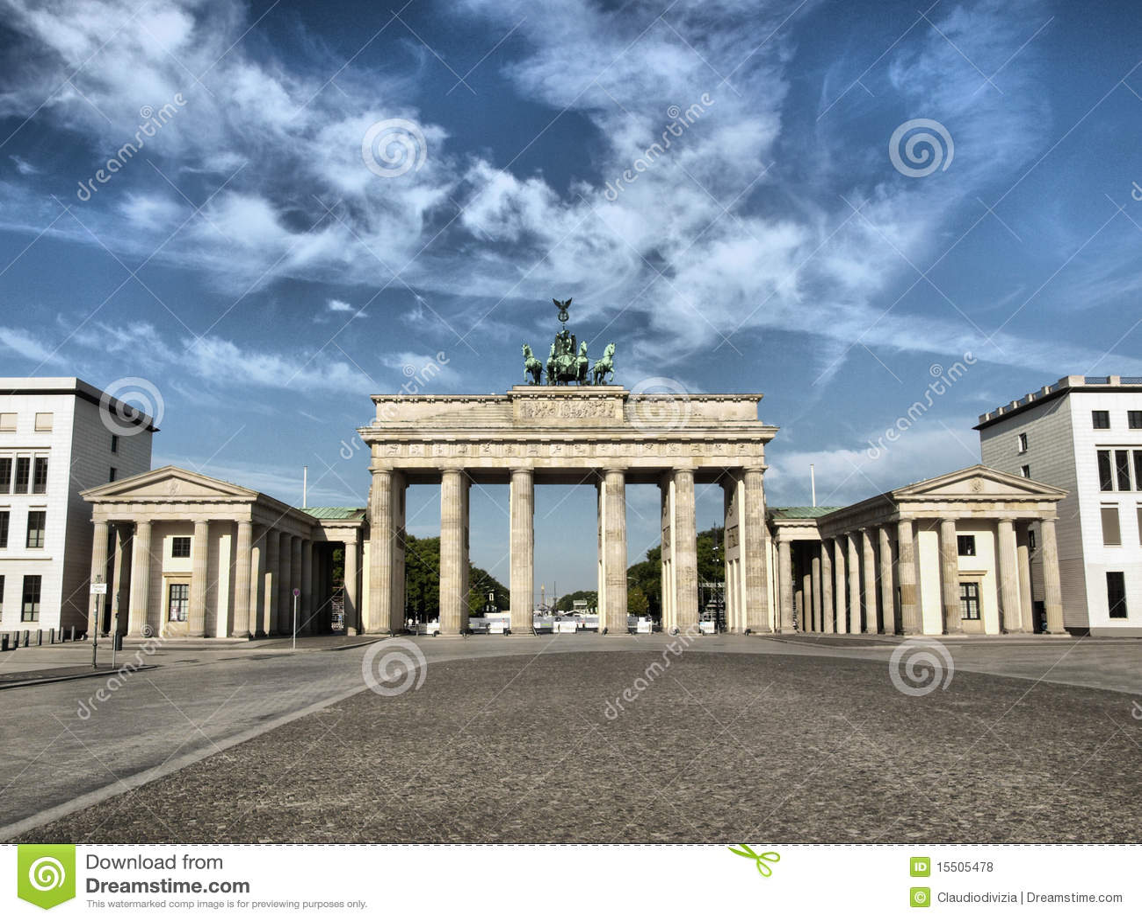 柏林brandenburger突岩