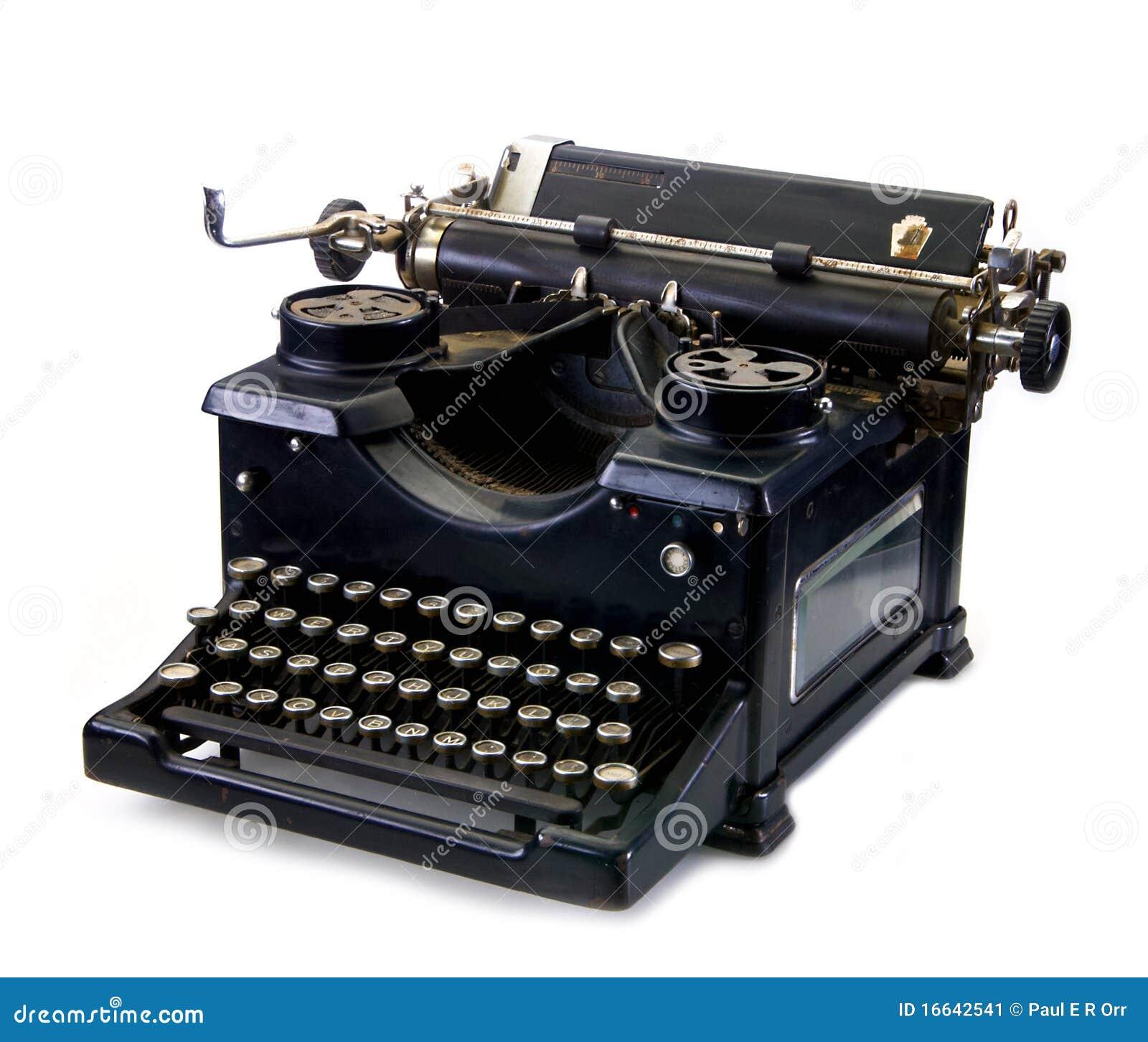 染黑老打字机葡萄酒