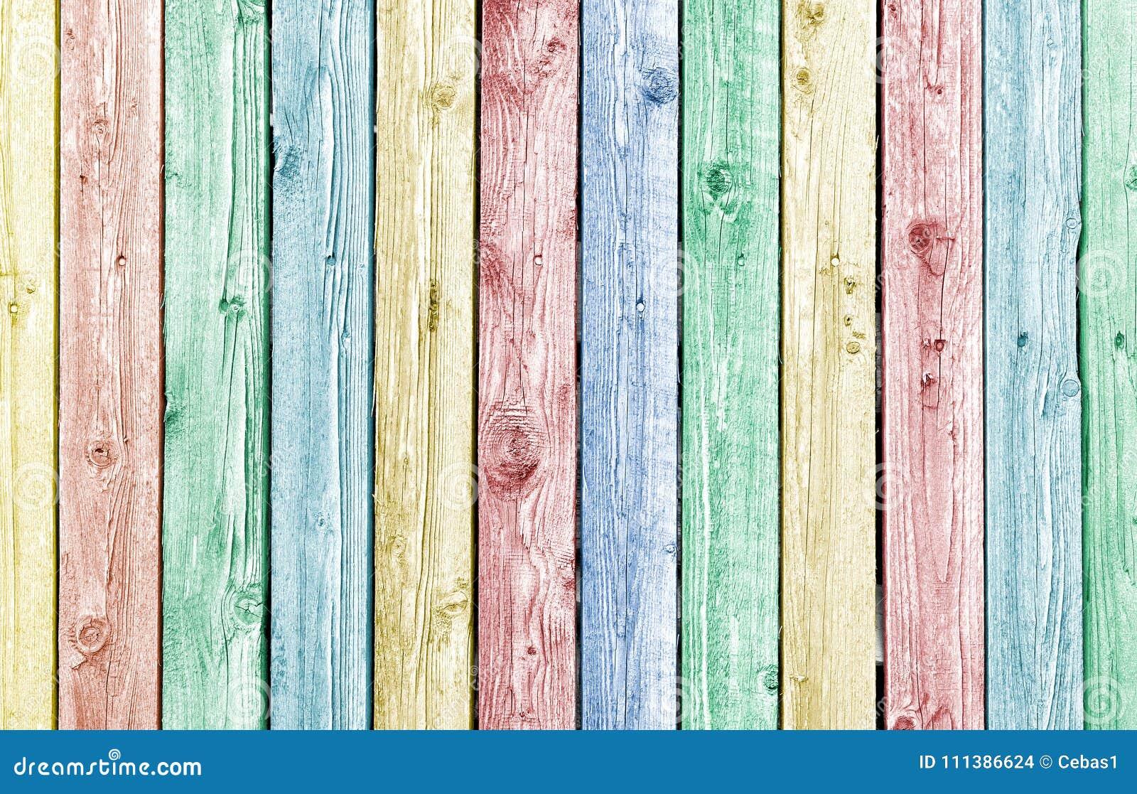 柔和的淡色彩被绘的老被风化的木板条