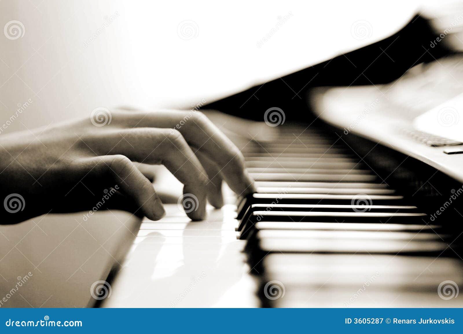 柔和的音乐钢琴