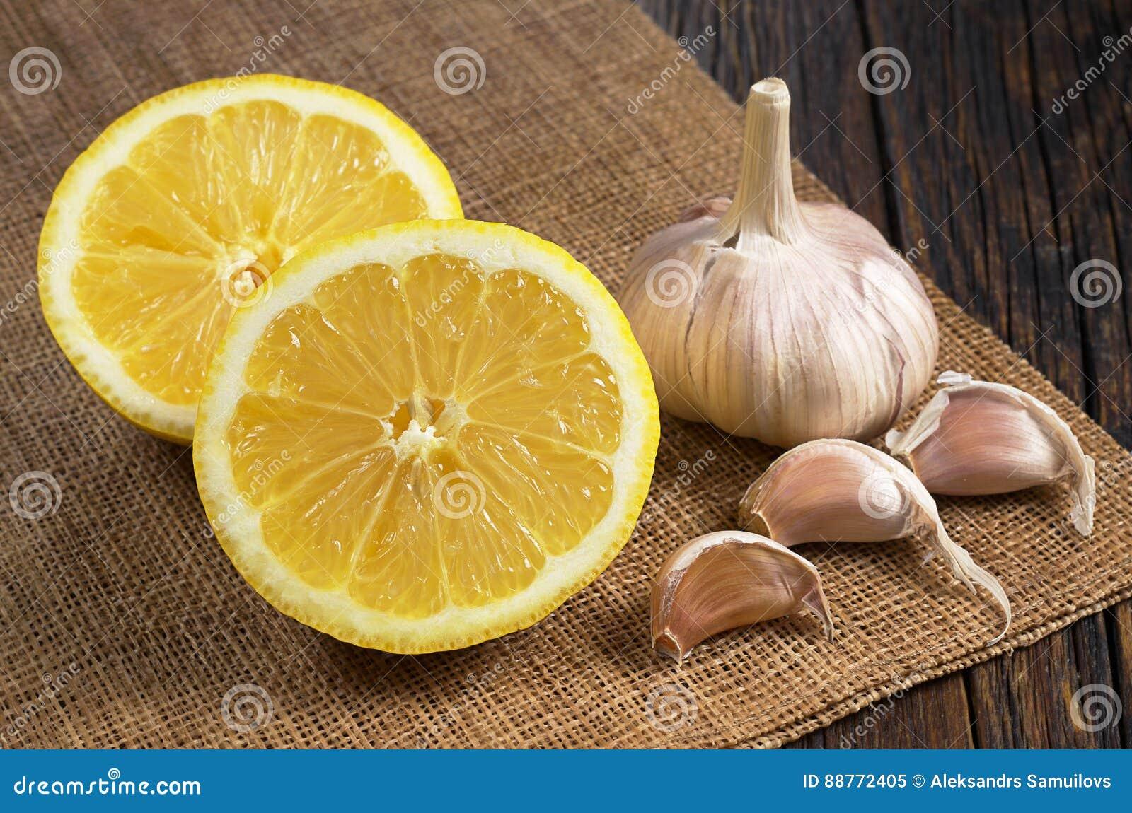 柠檬和大蒜