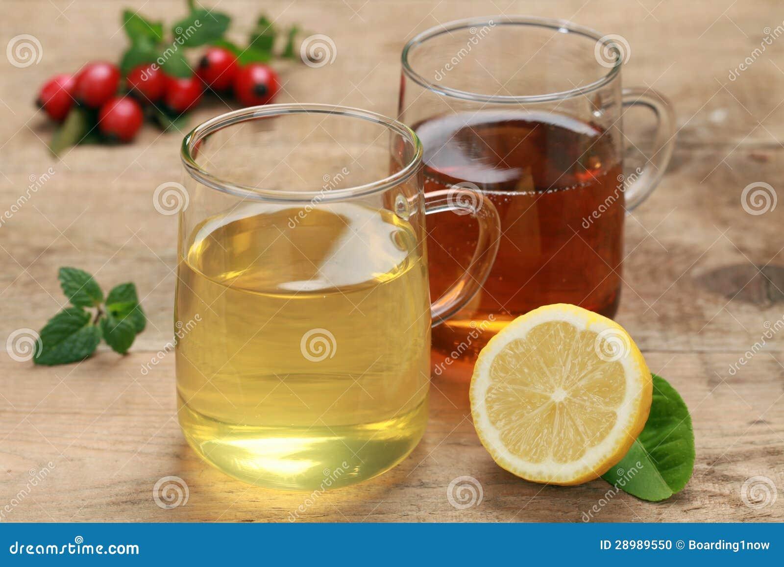 柠檬和rooibos茶