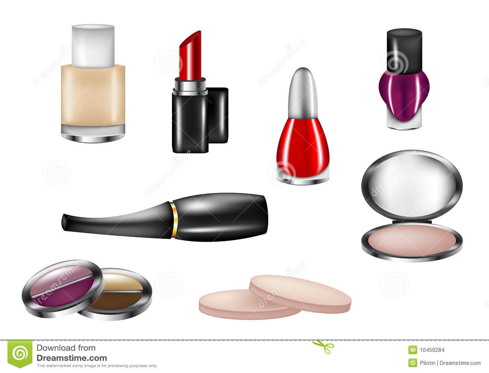 查出的化妆用品