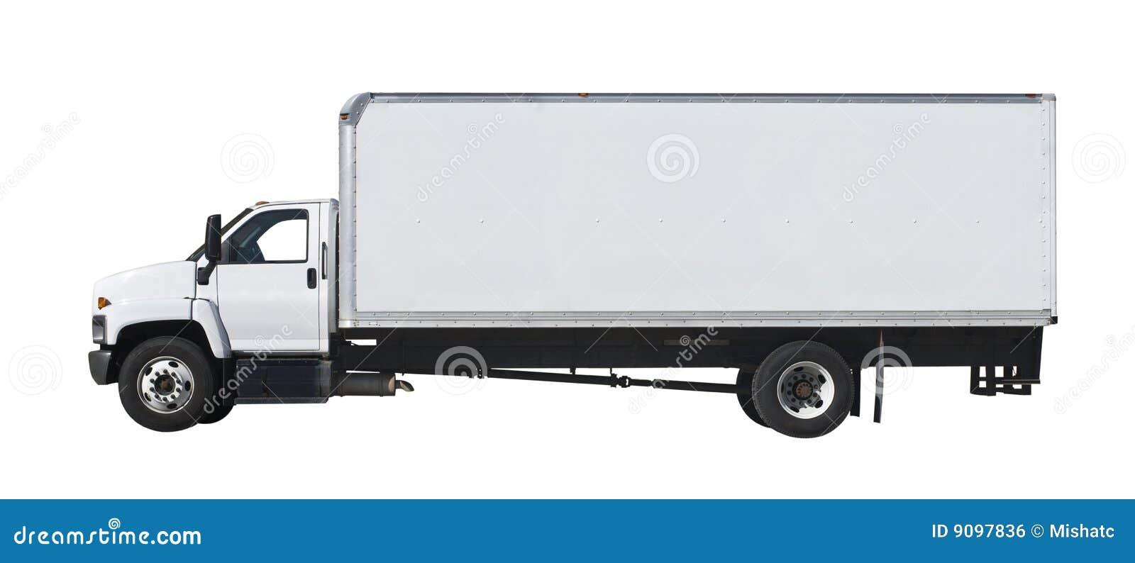 查出的卡车白色