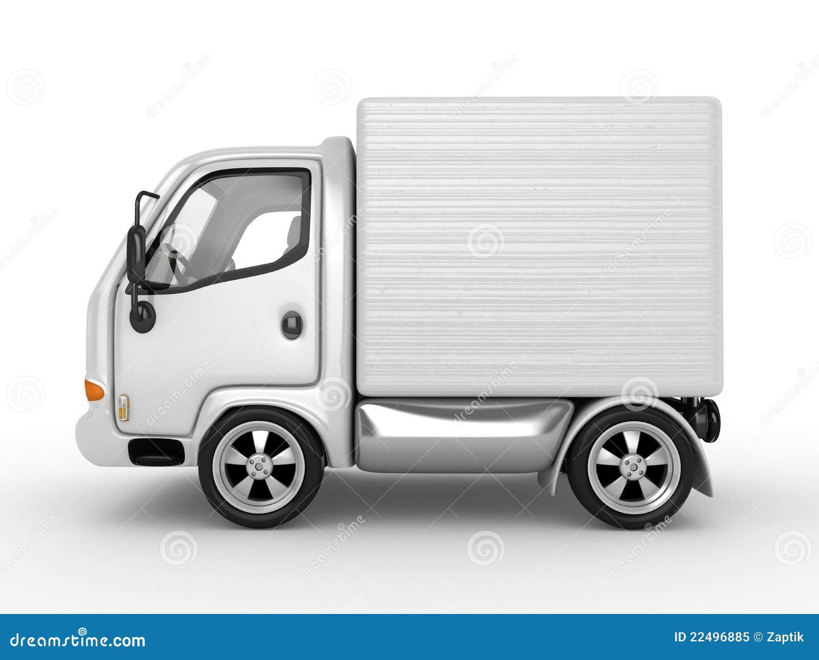 查出的有篷货车白色