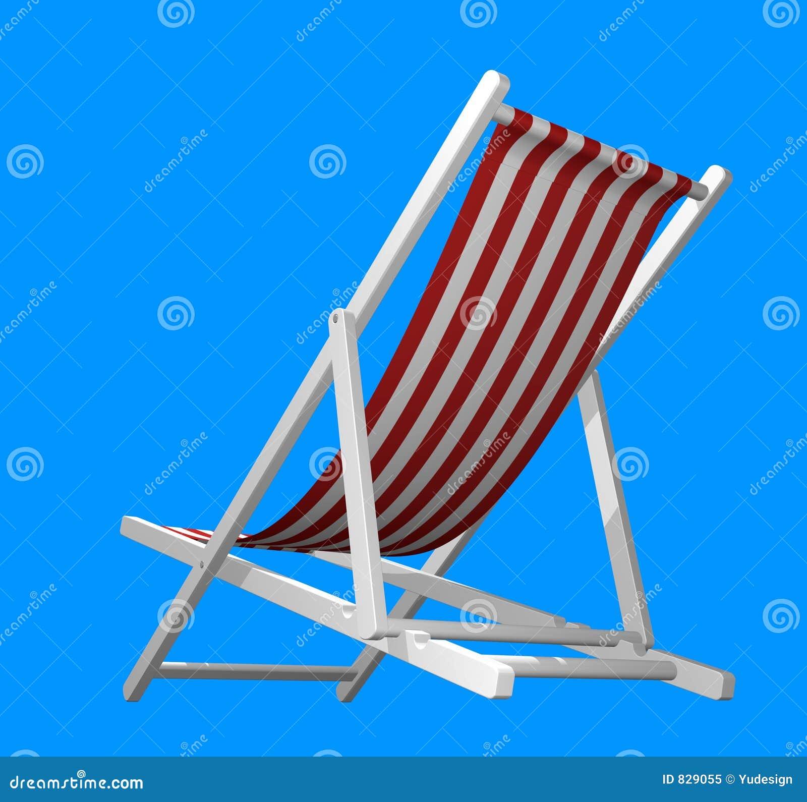 查出的海滩睡椅