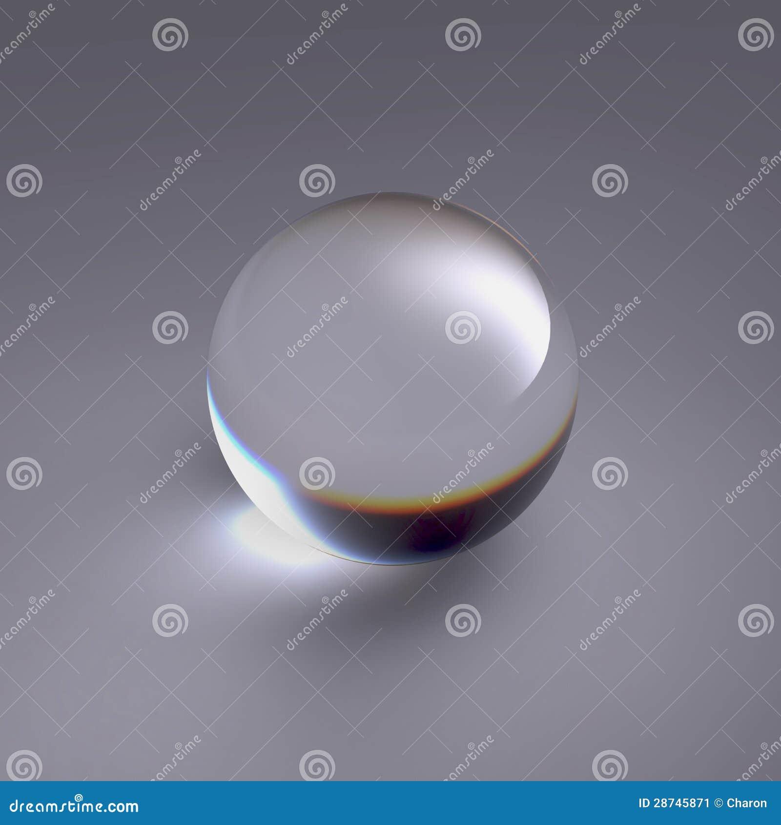 查出的清楚的水晶球