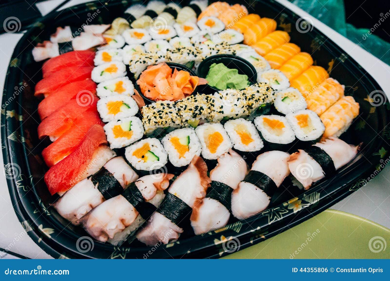 查出的牌照寿司白色