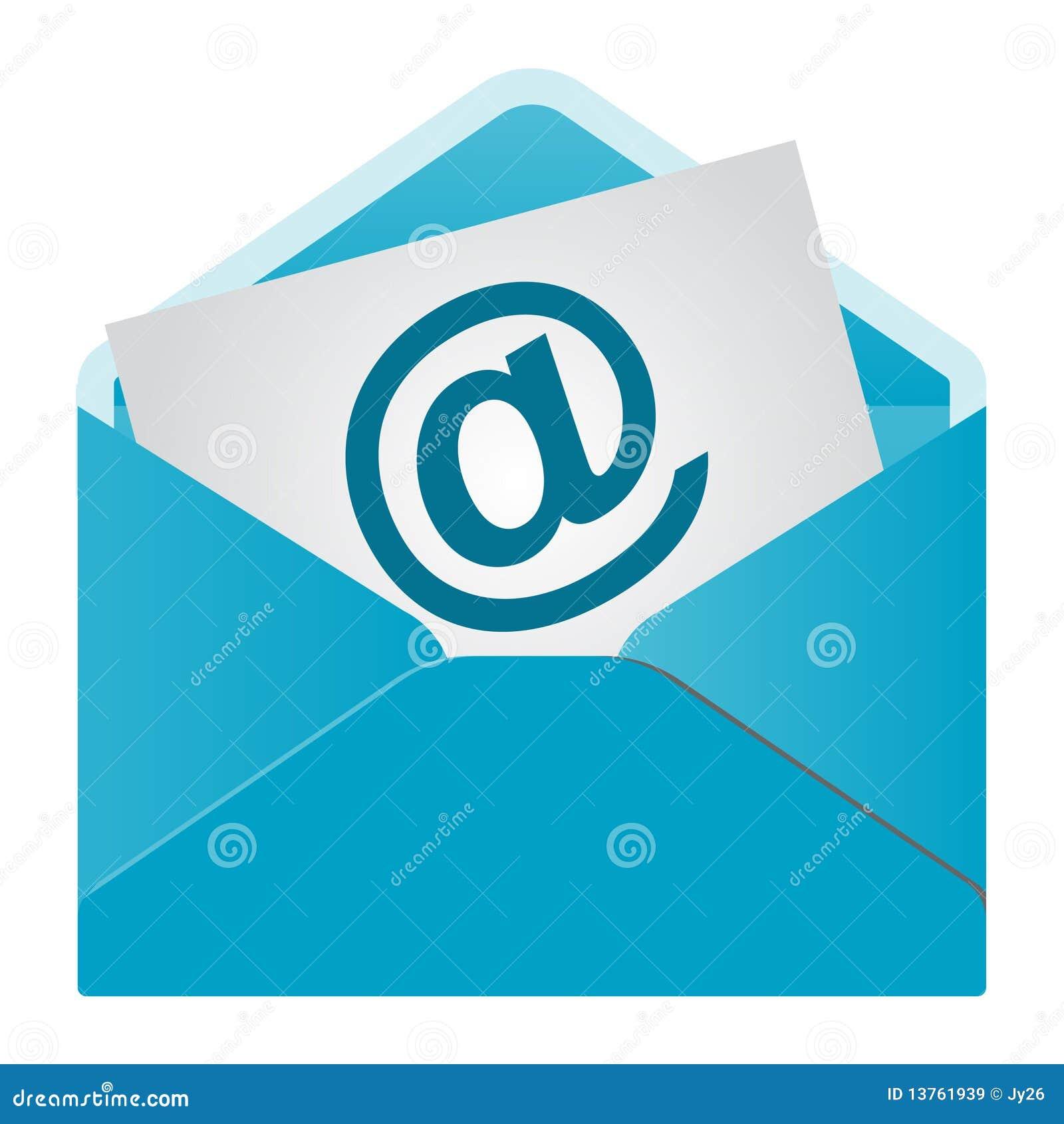 查出的电子邮件图标