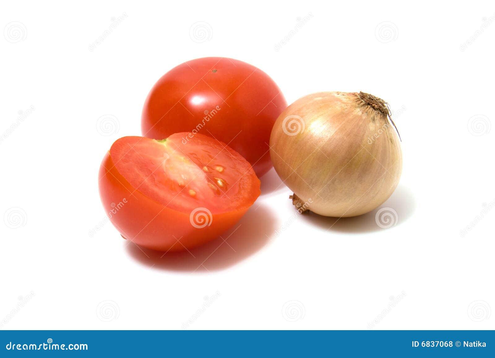 查出的葱蕃茄白色