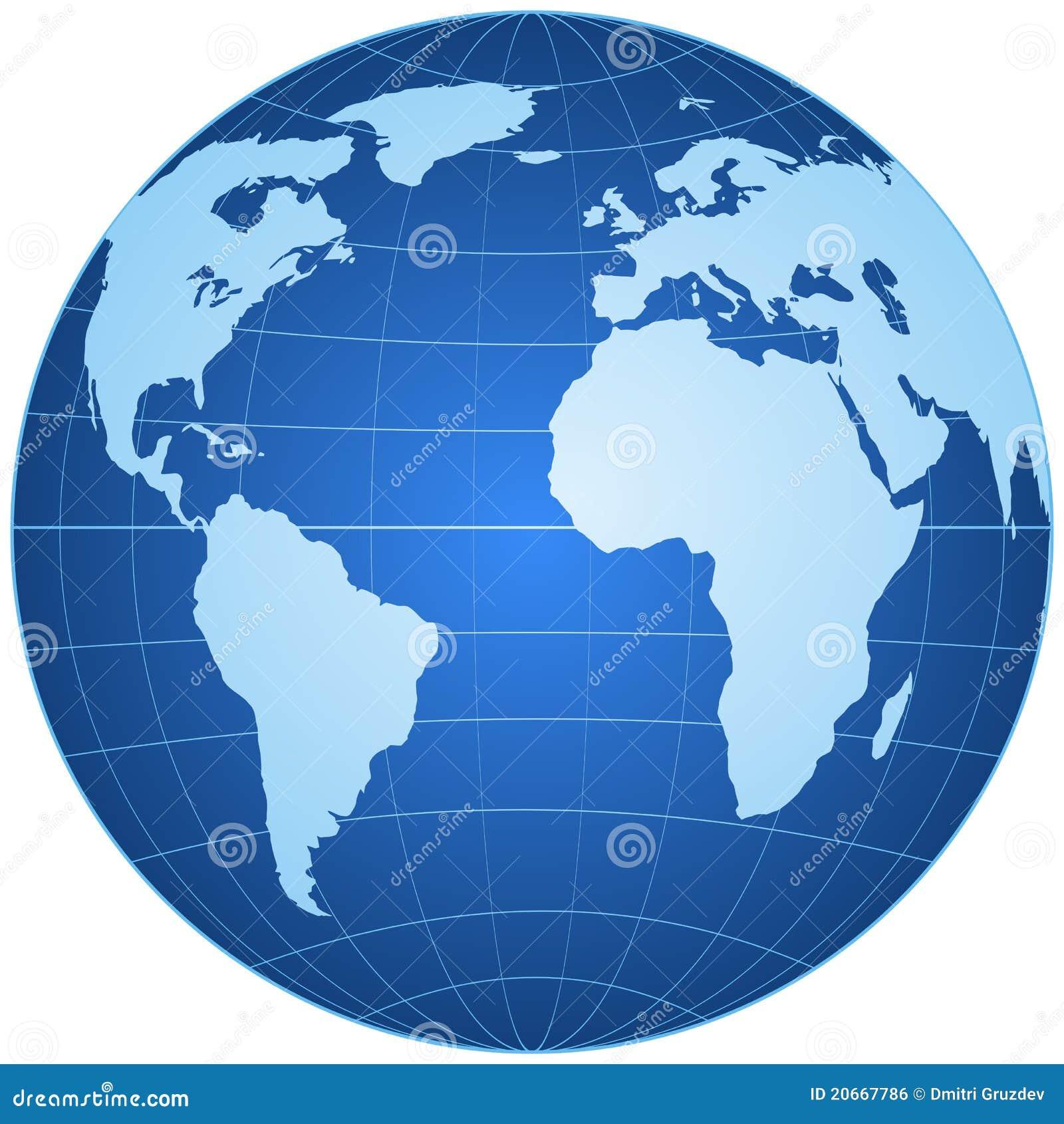 查出的蓝色地球