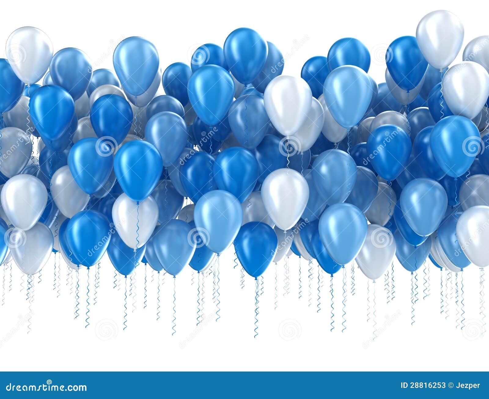 查出的蓝色气球