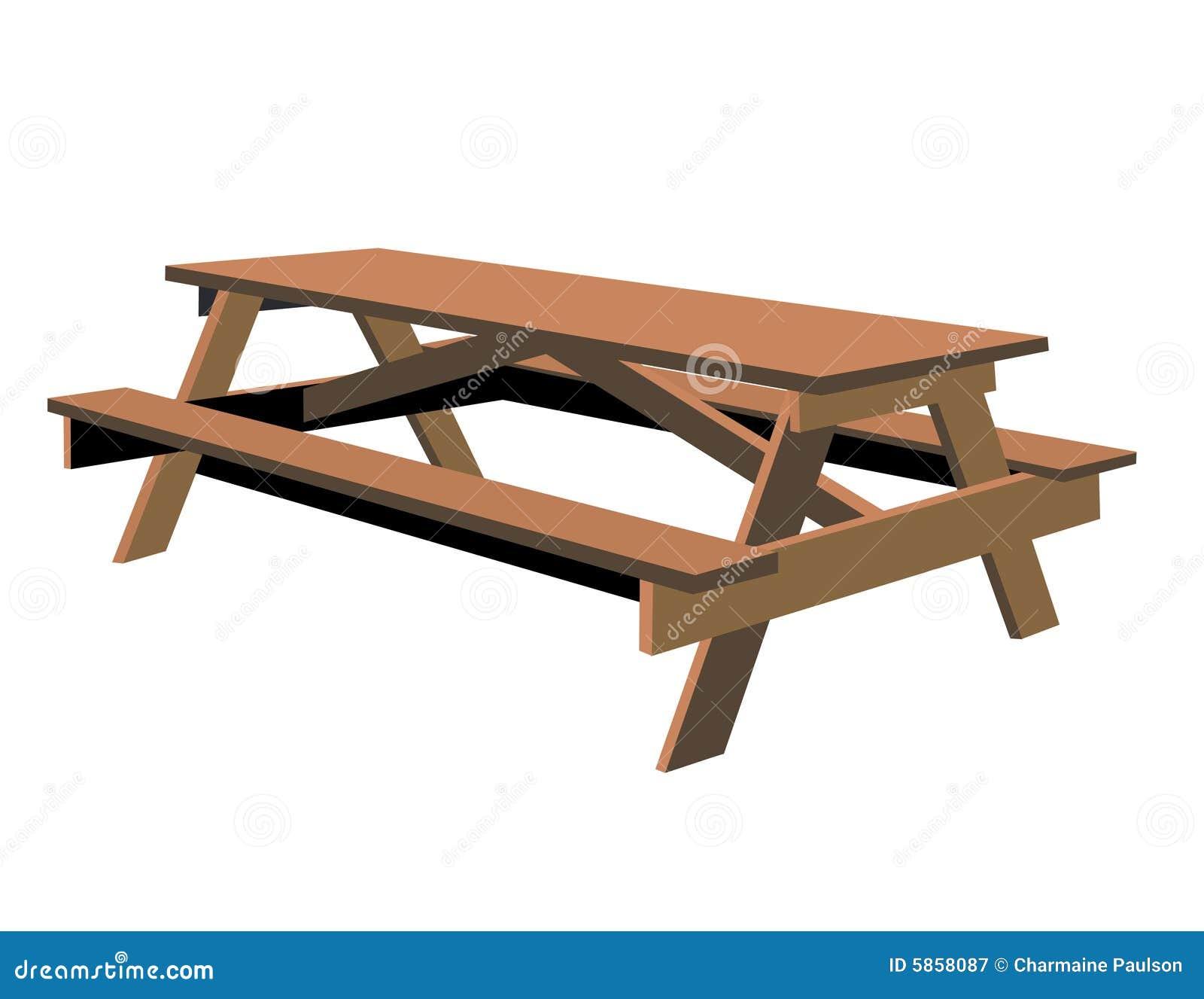 查出的野餐桌