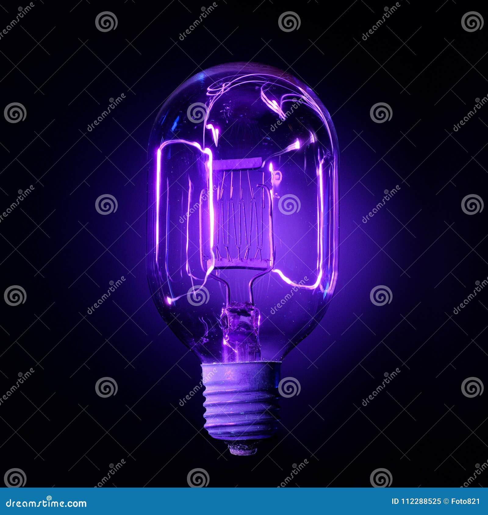 查出的闪亮指示紫外白色